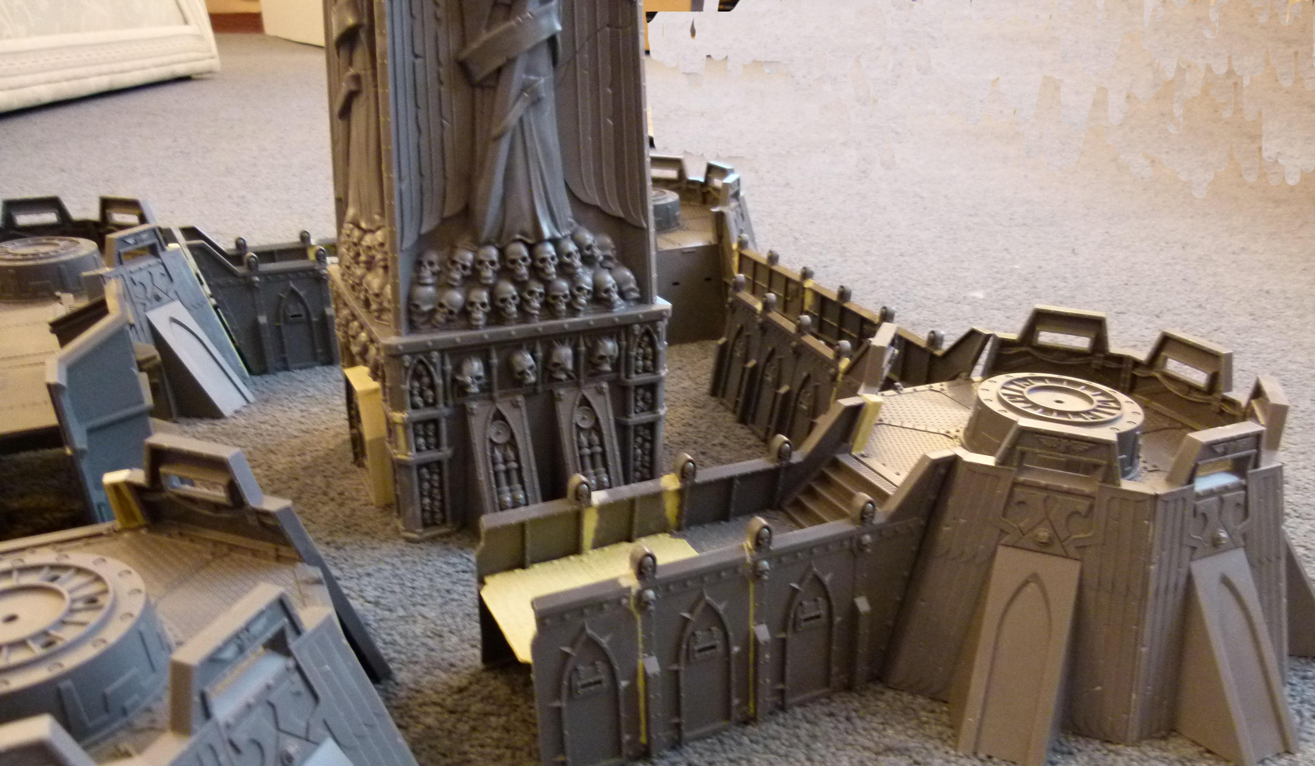 Fortress of the Damned WIP Side view