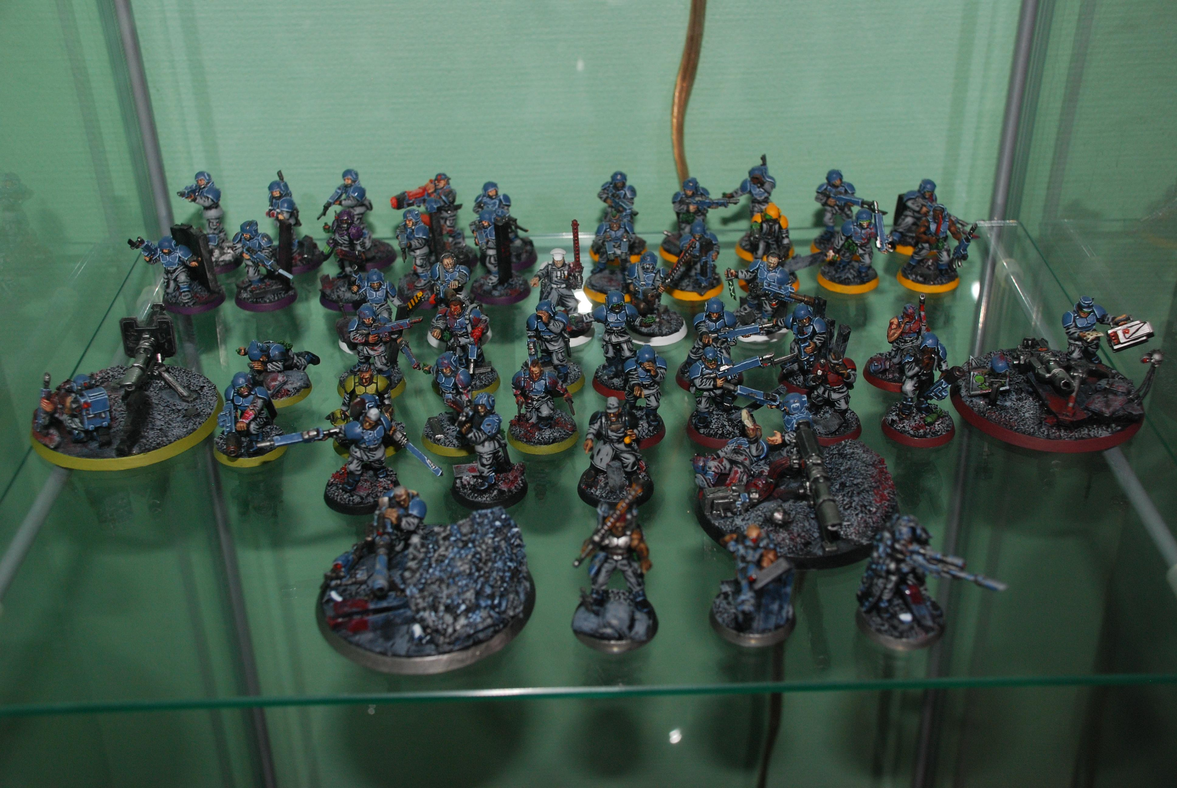 Army, Cadians, Guardsmen, Imperial Guard, Infantry, Troops, Warhammer 40,000