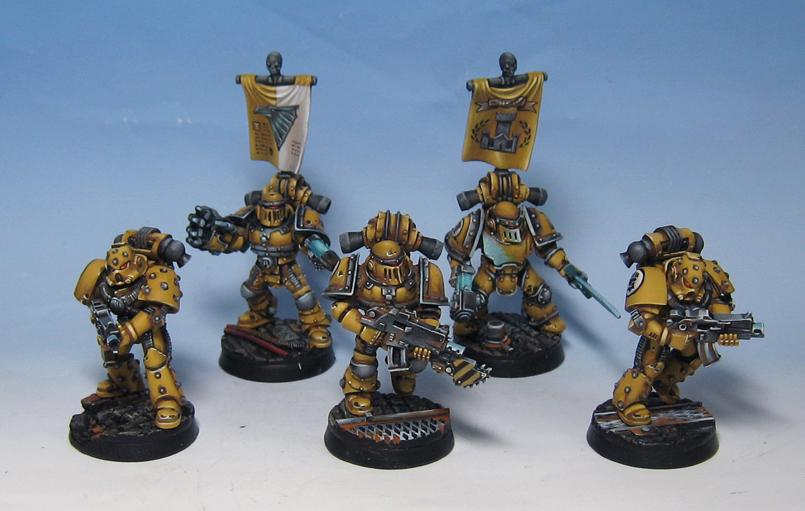Pre Heresy Imperial Fists, Space Marines