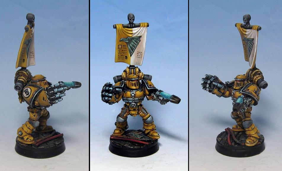 Imperial Fists, Pre Heresy Imperial Fists, Sergeant, Space Marines, Tactical Squad
