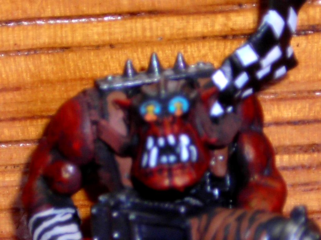 Red Ork, ork viewing the big blam!