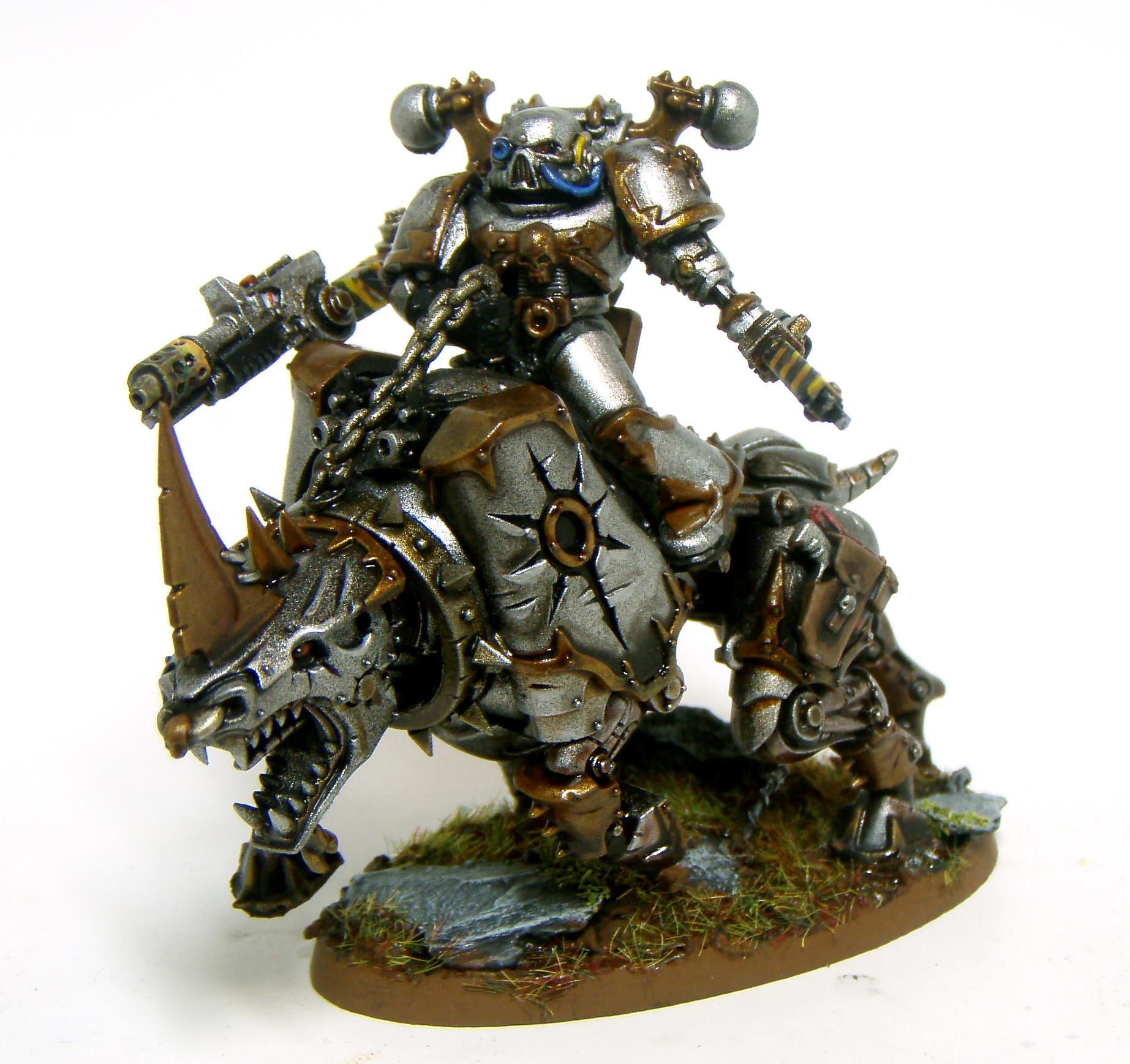 Chaos Biker with Torrent Meltagun (Nasty)