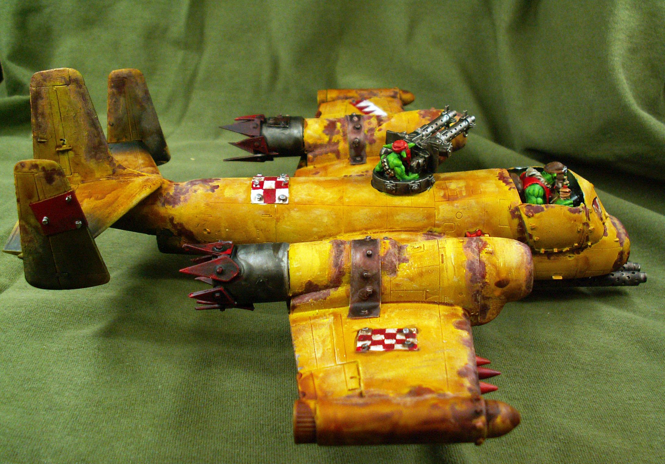 Burna Bomber, Conversion, Kitbash, Orks