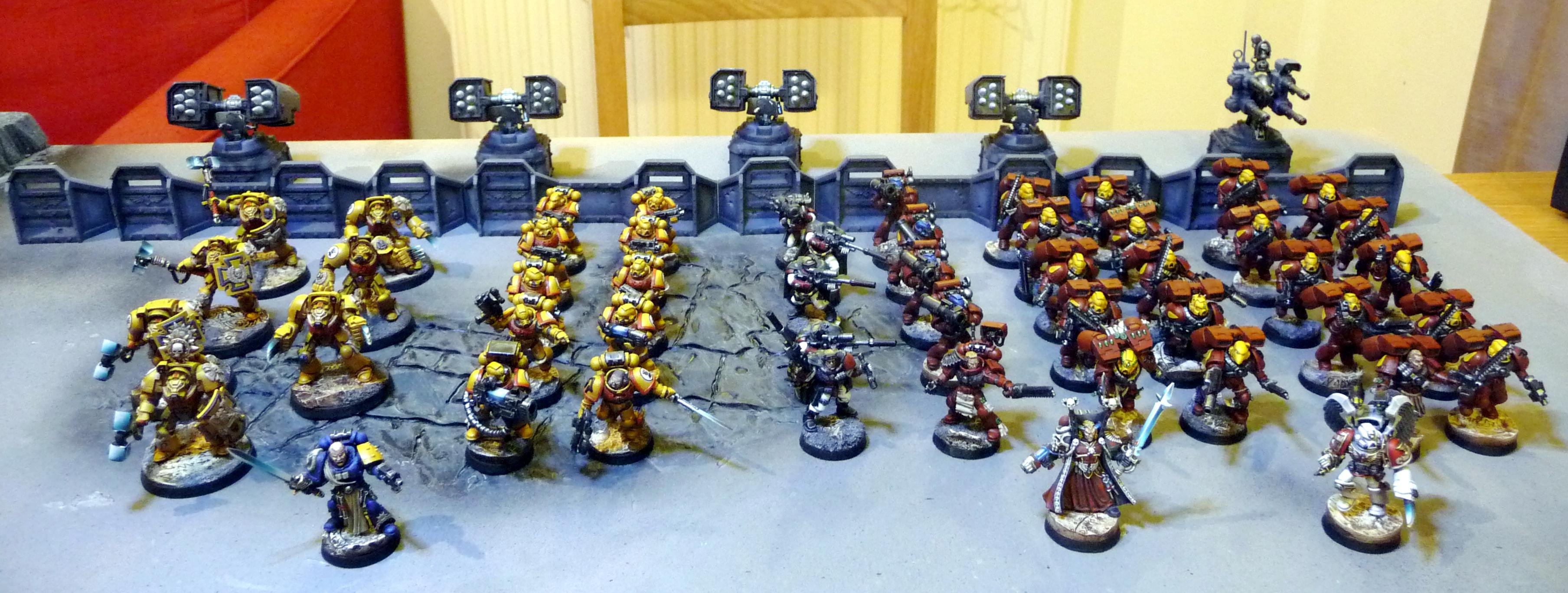 Army, Blood Angels, Imperial Fists