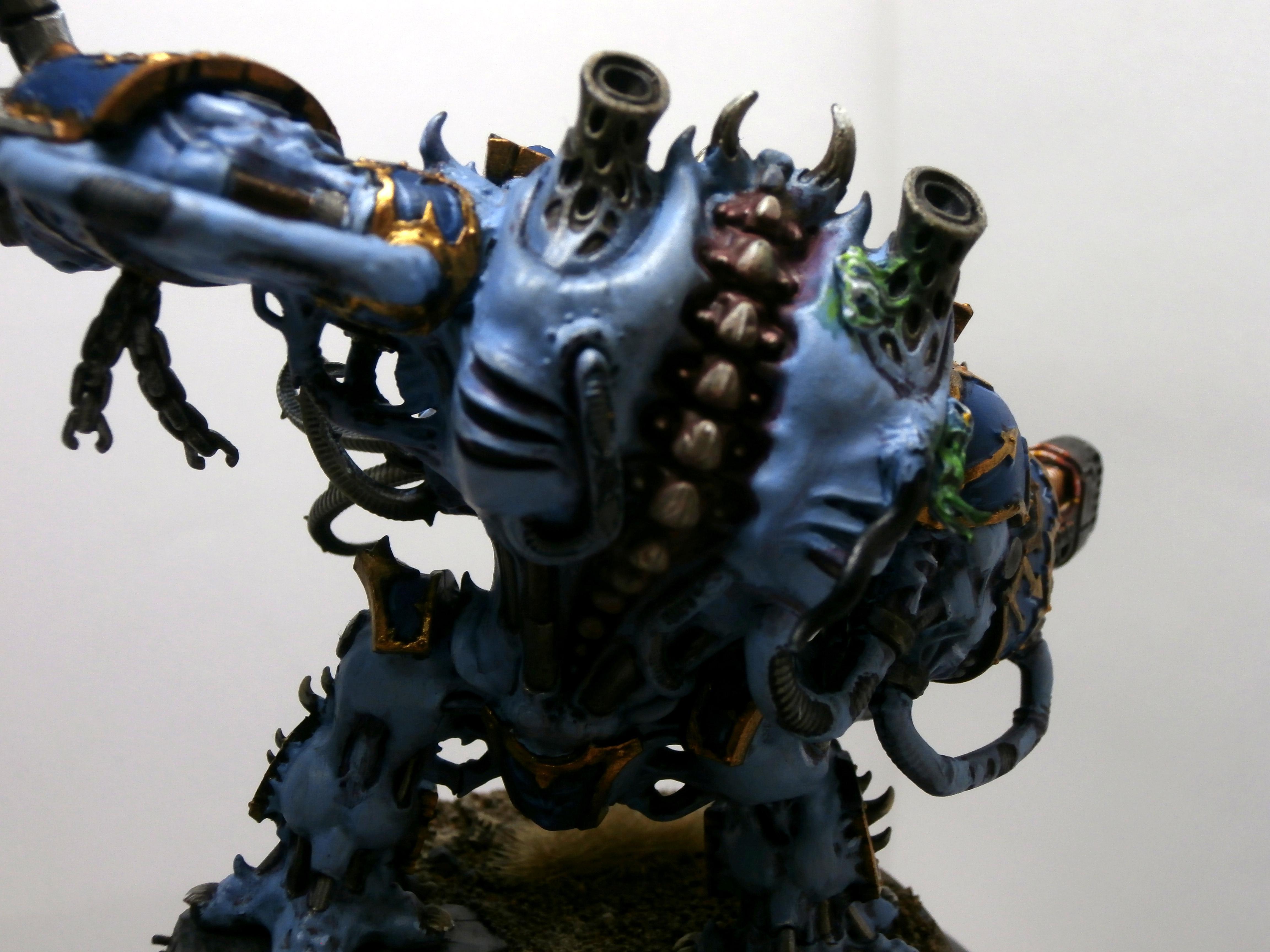 Chaos, Dreadnought, Helbrute, Tzeentch