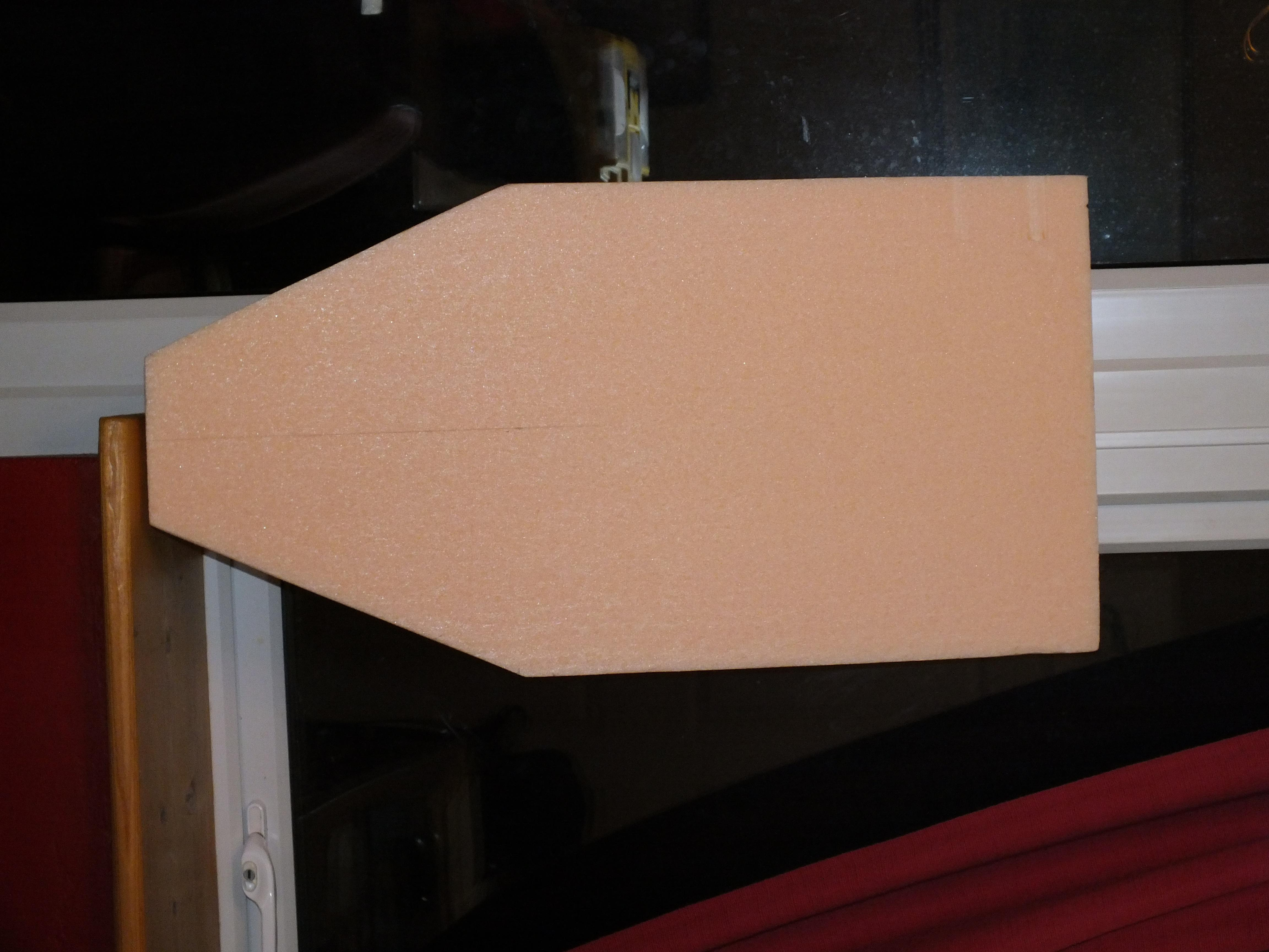 Starts of with a cut out base section