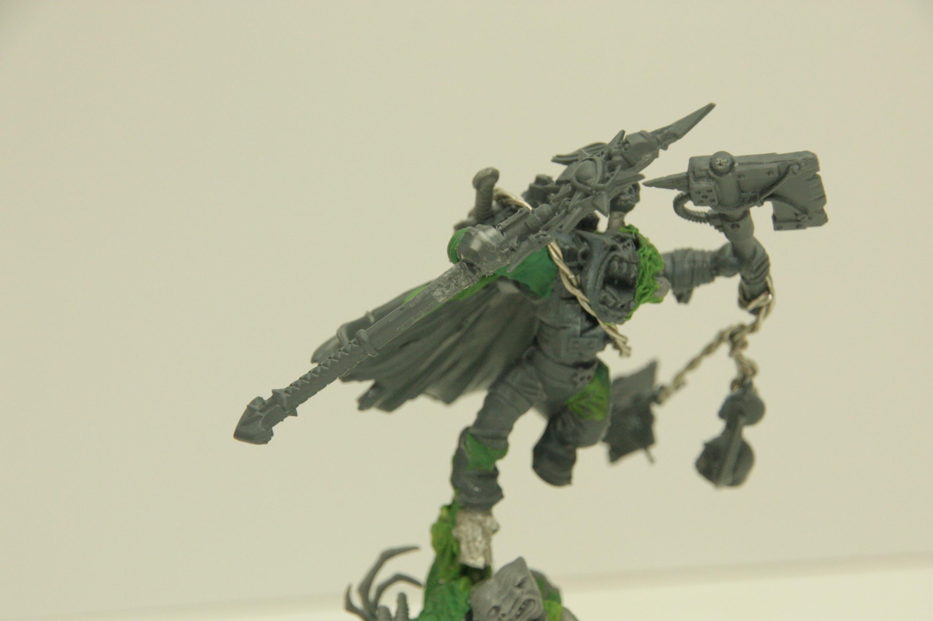 Orks, Warhammer 40,000, Weirdboy, Work In Progress