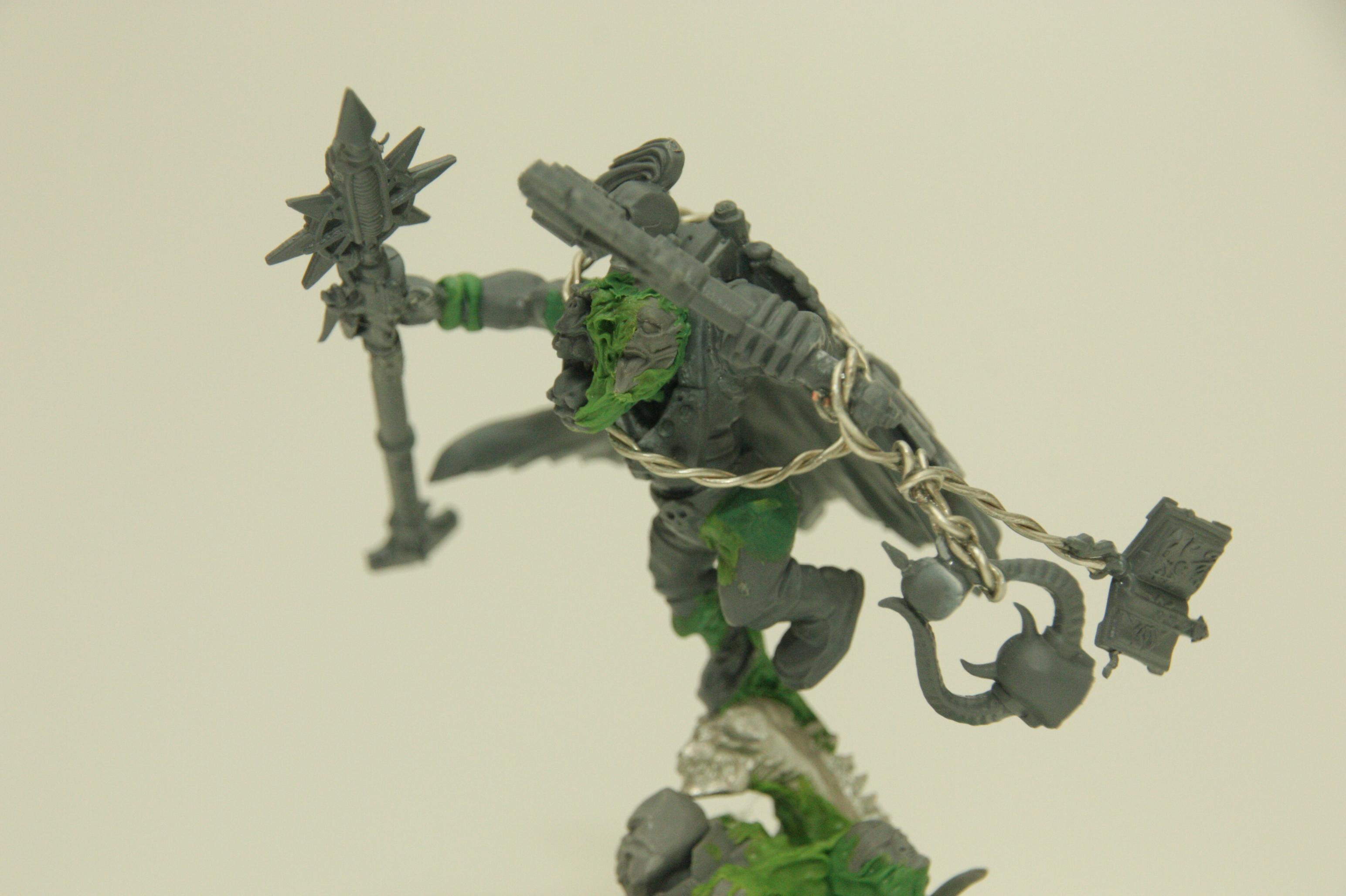 Ork - Weirdboy WIP Side