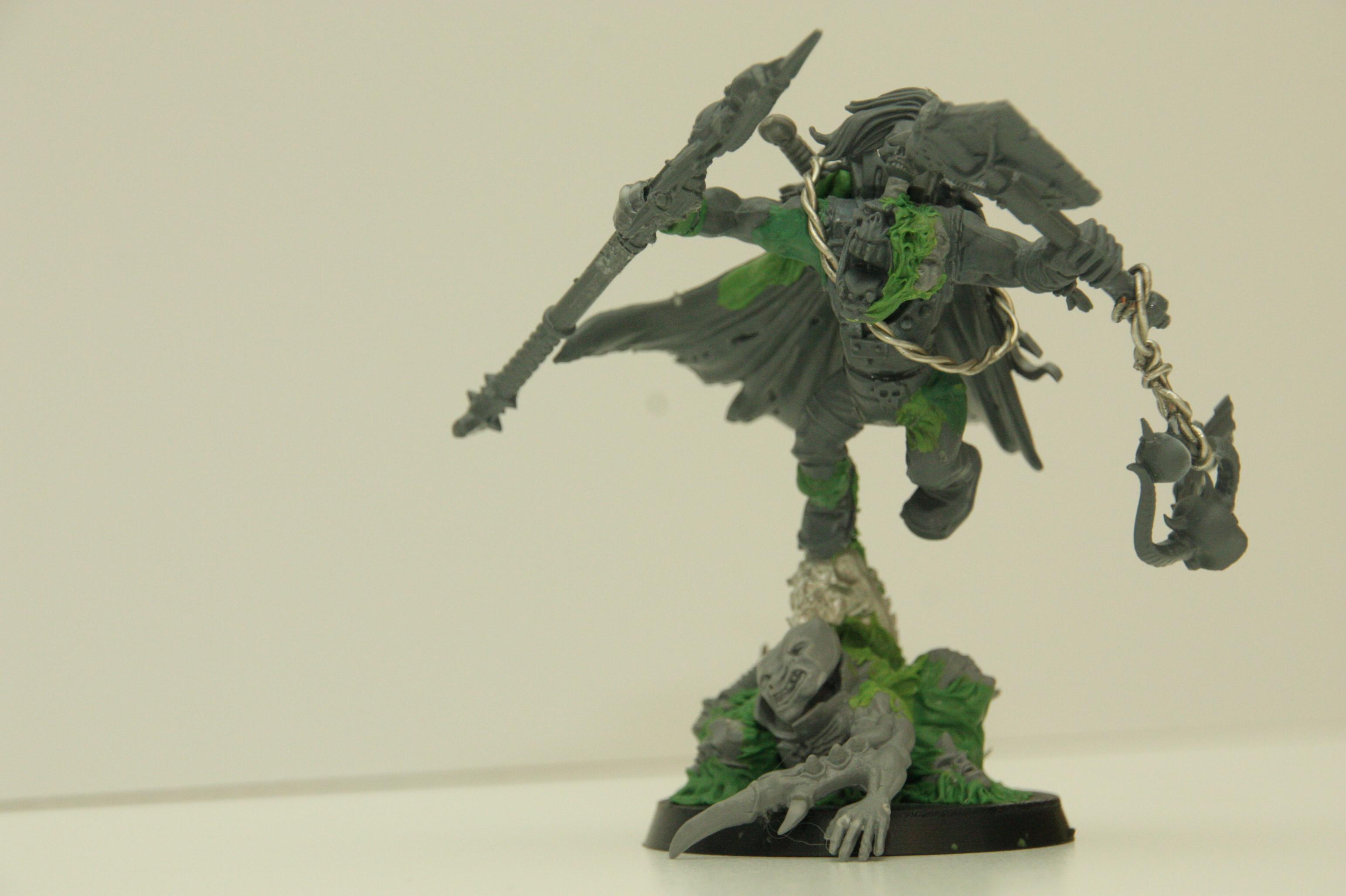 Ork - Weirdboy WIP front