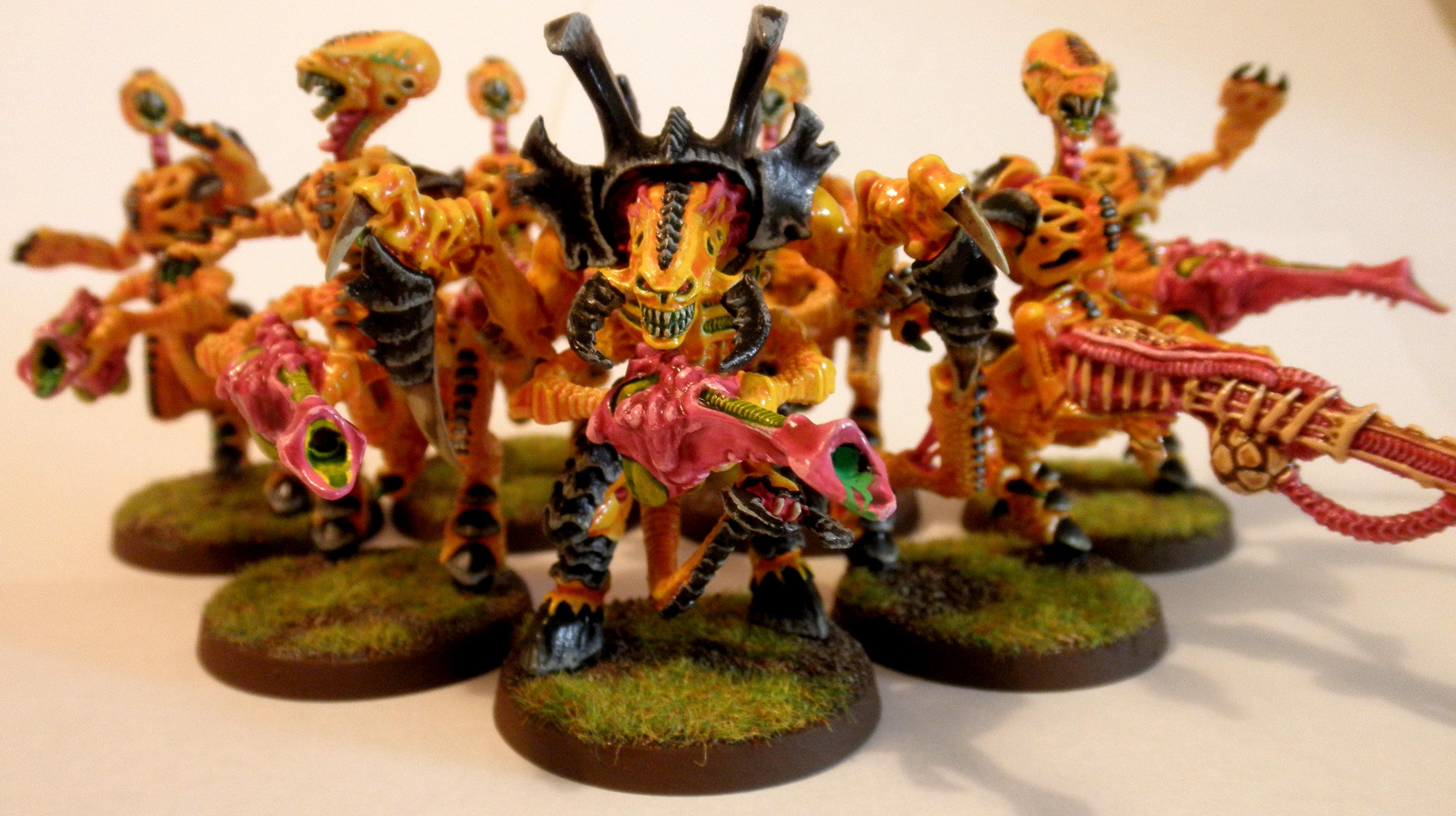 2nd, Conversion, Hive Tyrant, Metal, Out Of Production, Prime, Rouge Traider, Shooty, Tyranid Prime, Tyranids, Warriors, Yellow
