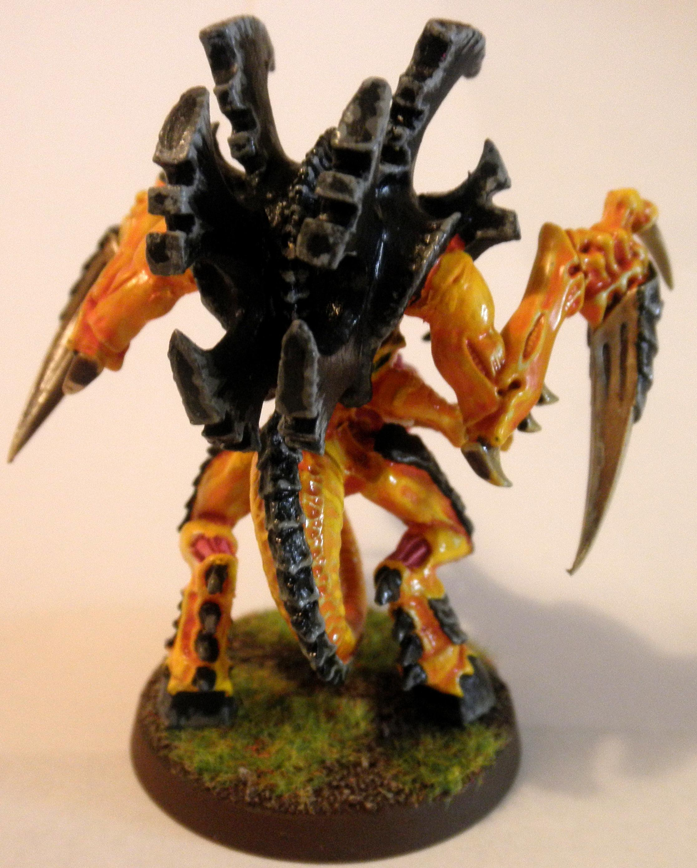 2nd, Conversion, Hive Tyrant, Metal, Out Of Production, Prime, Shooty, Tyranid Prime, Tyranids, Yellow