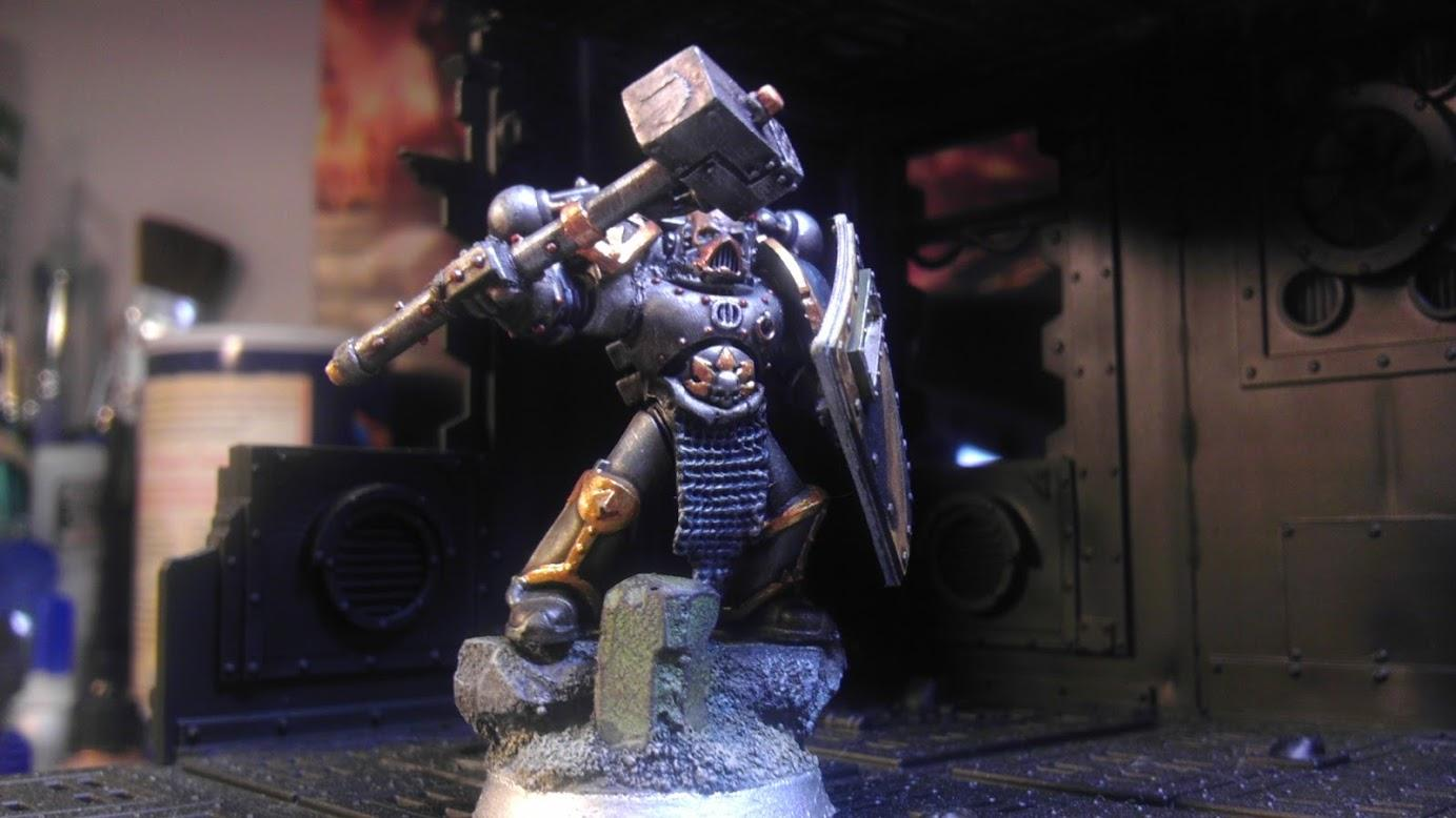 Champion, Chaos Space Marines, Iron Warriors
