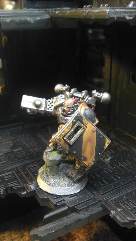 Champion, Chaos Space Marines, Iron Warriors