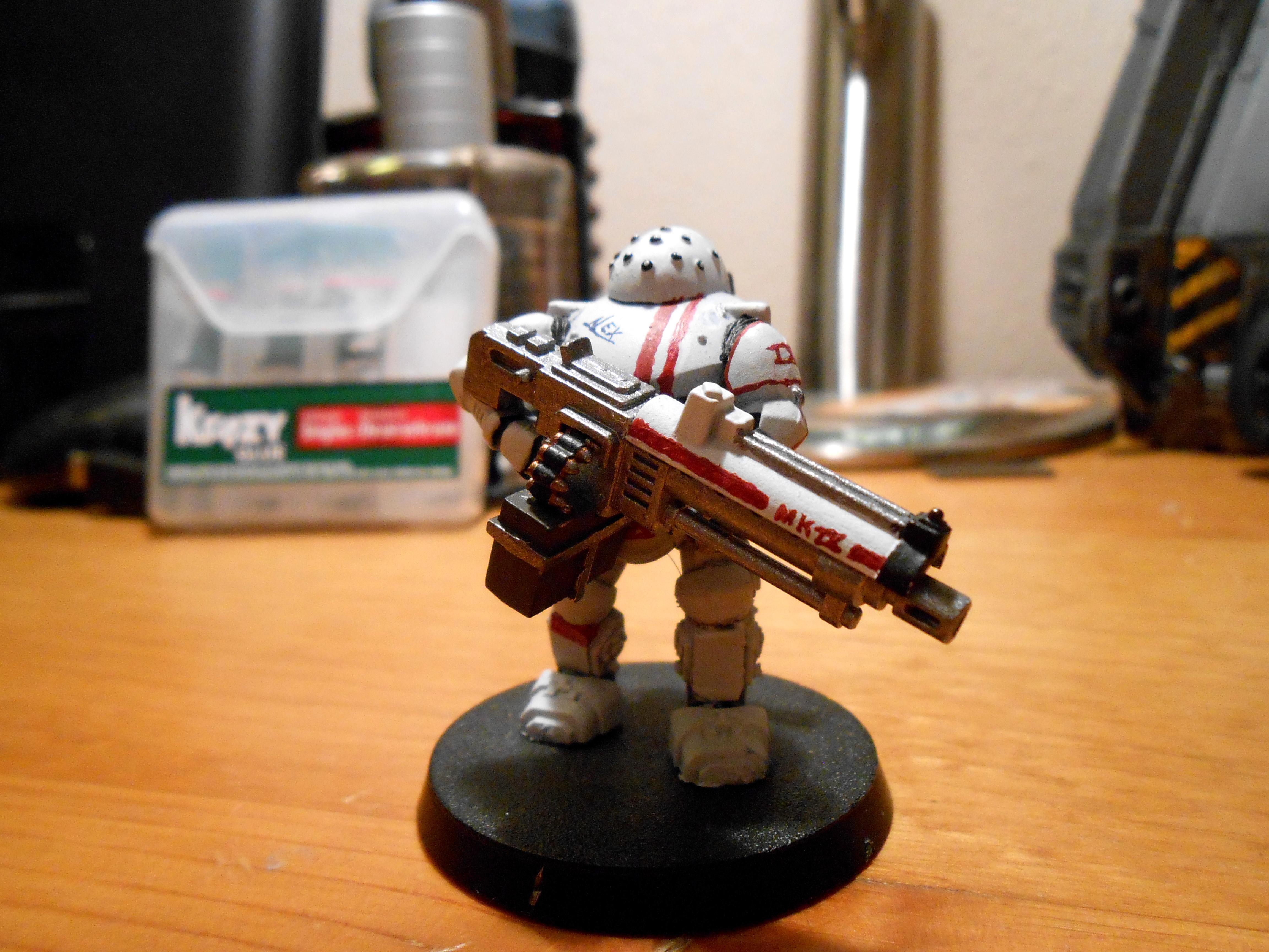 Battlesuit, Mk-9 Imperial guard battle suit