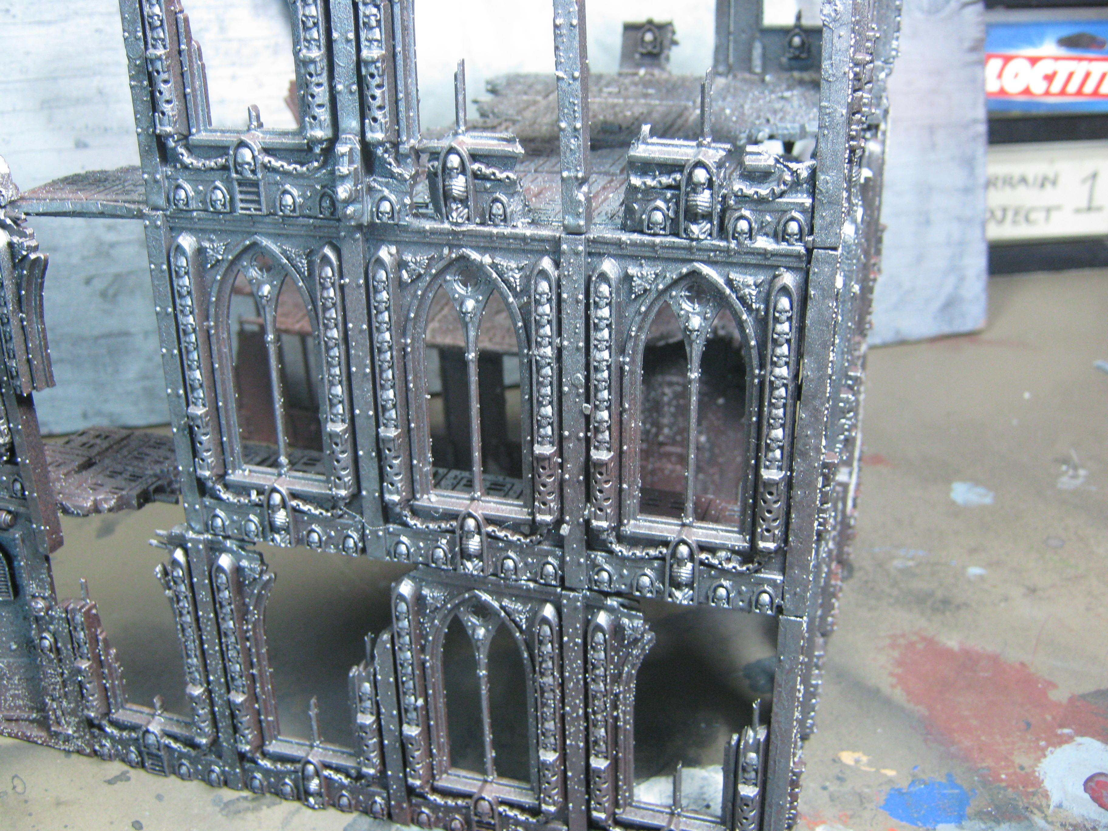Basilica, Conversion, Imperial Sector, Ruins, Terrain, Warhammer 40,000