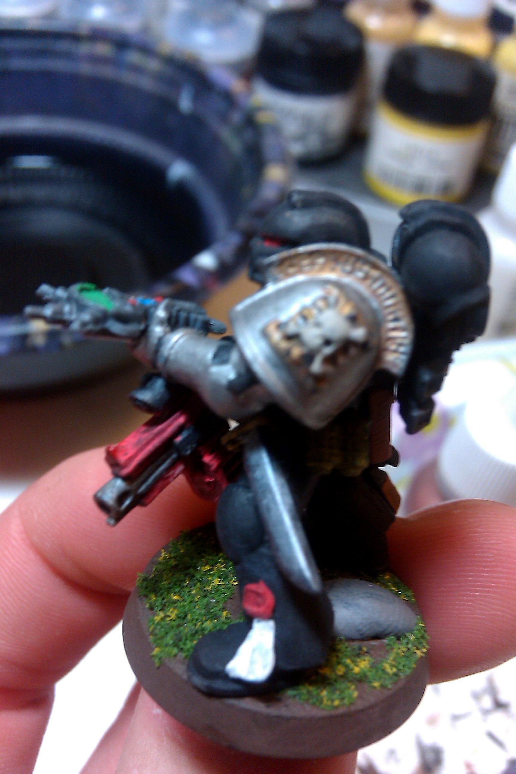Auspex, Astral Claws Tactical Marine