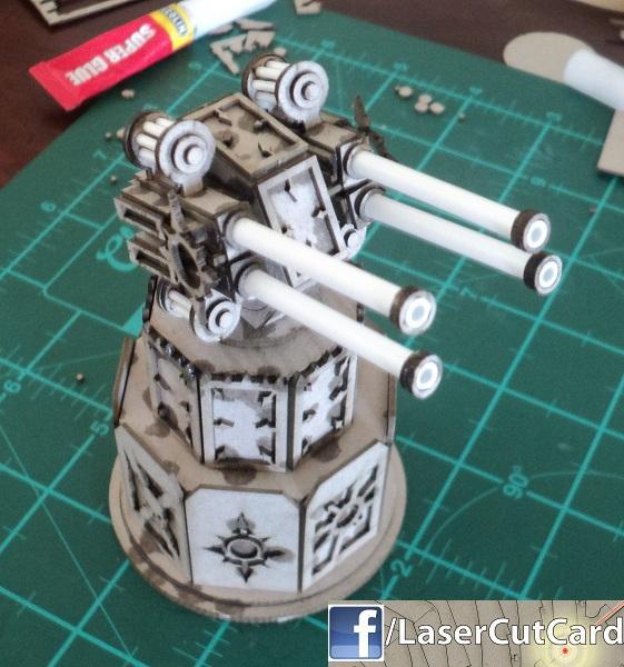 The unpainted quad cannon