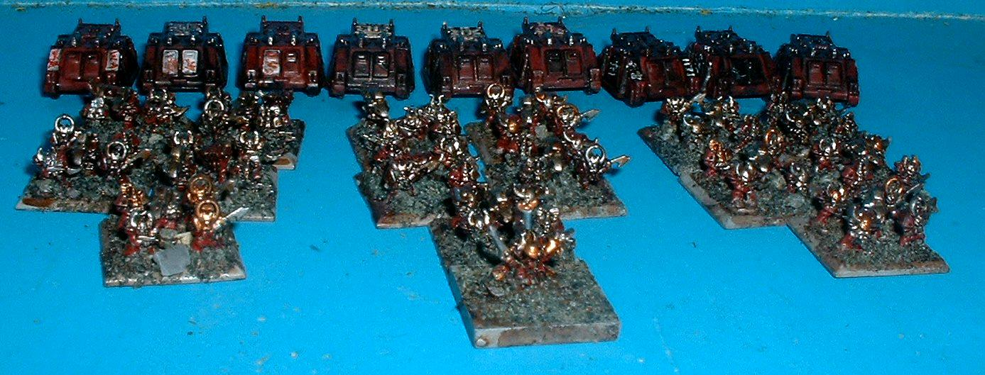 6mm, Chaos, Epic, Chaos Space Marine Company