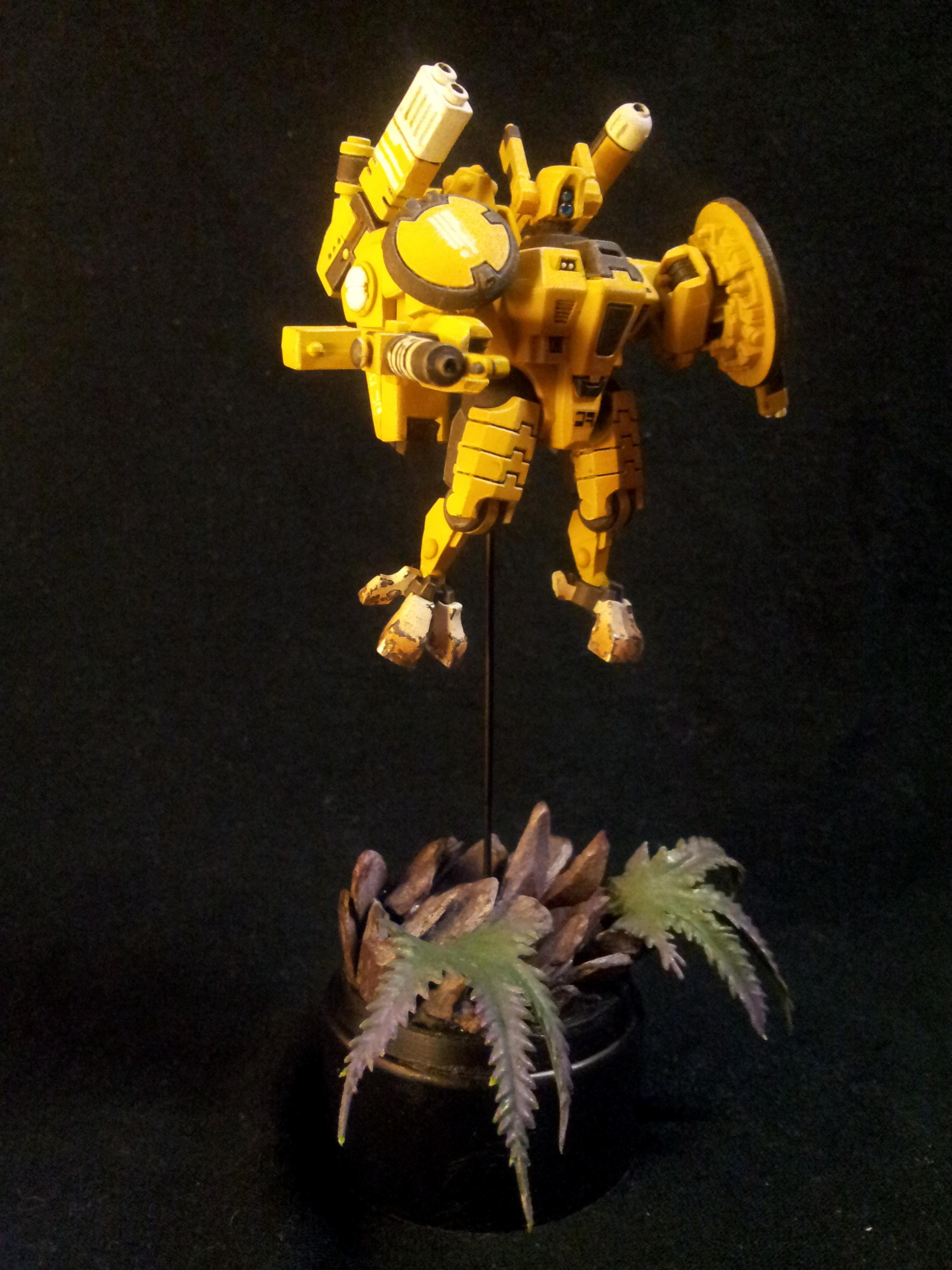 Firewasp, Tau, Xv-8, XV8, Yellow