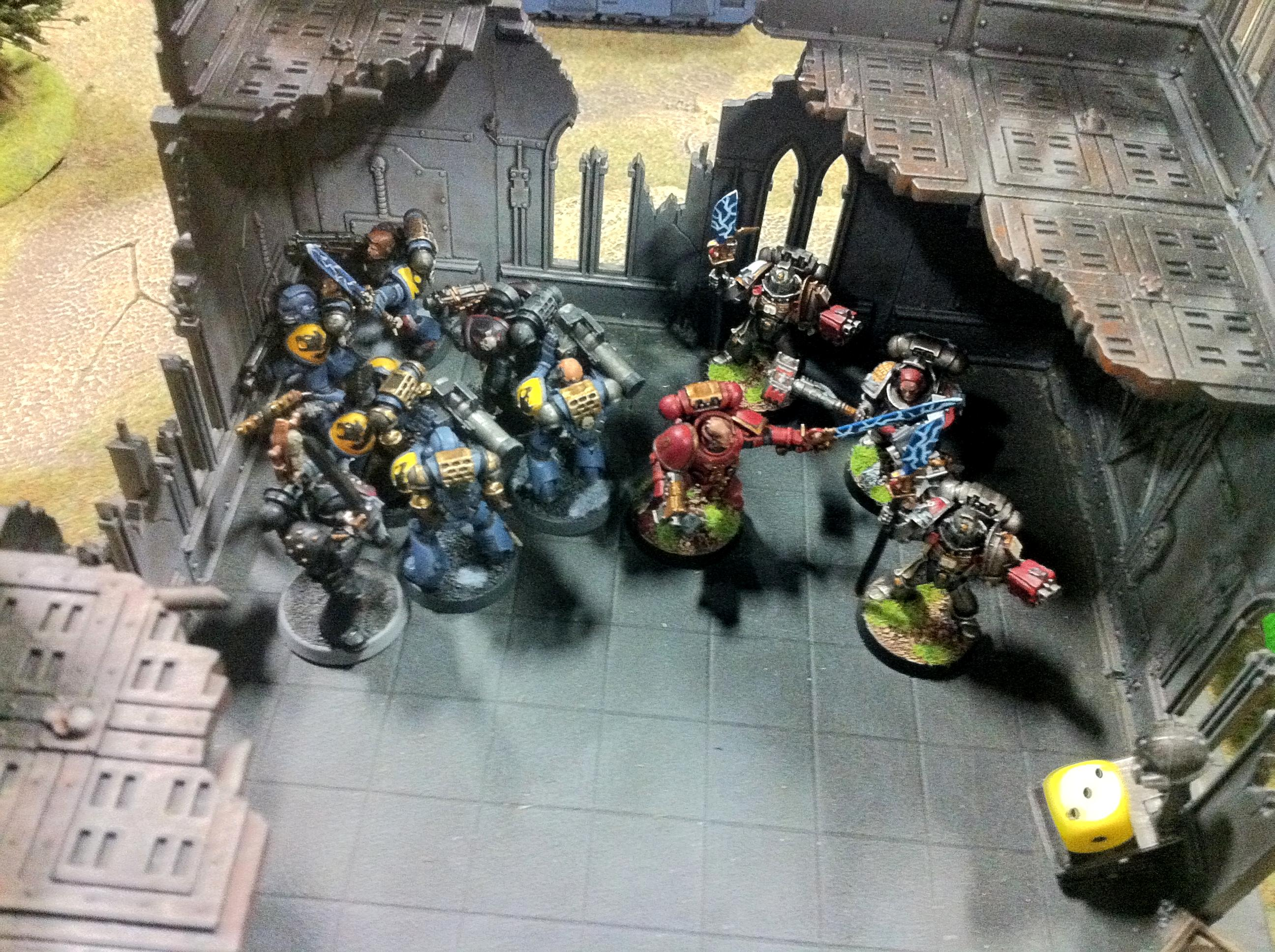 Battle Brothers, Warhammer World