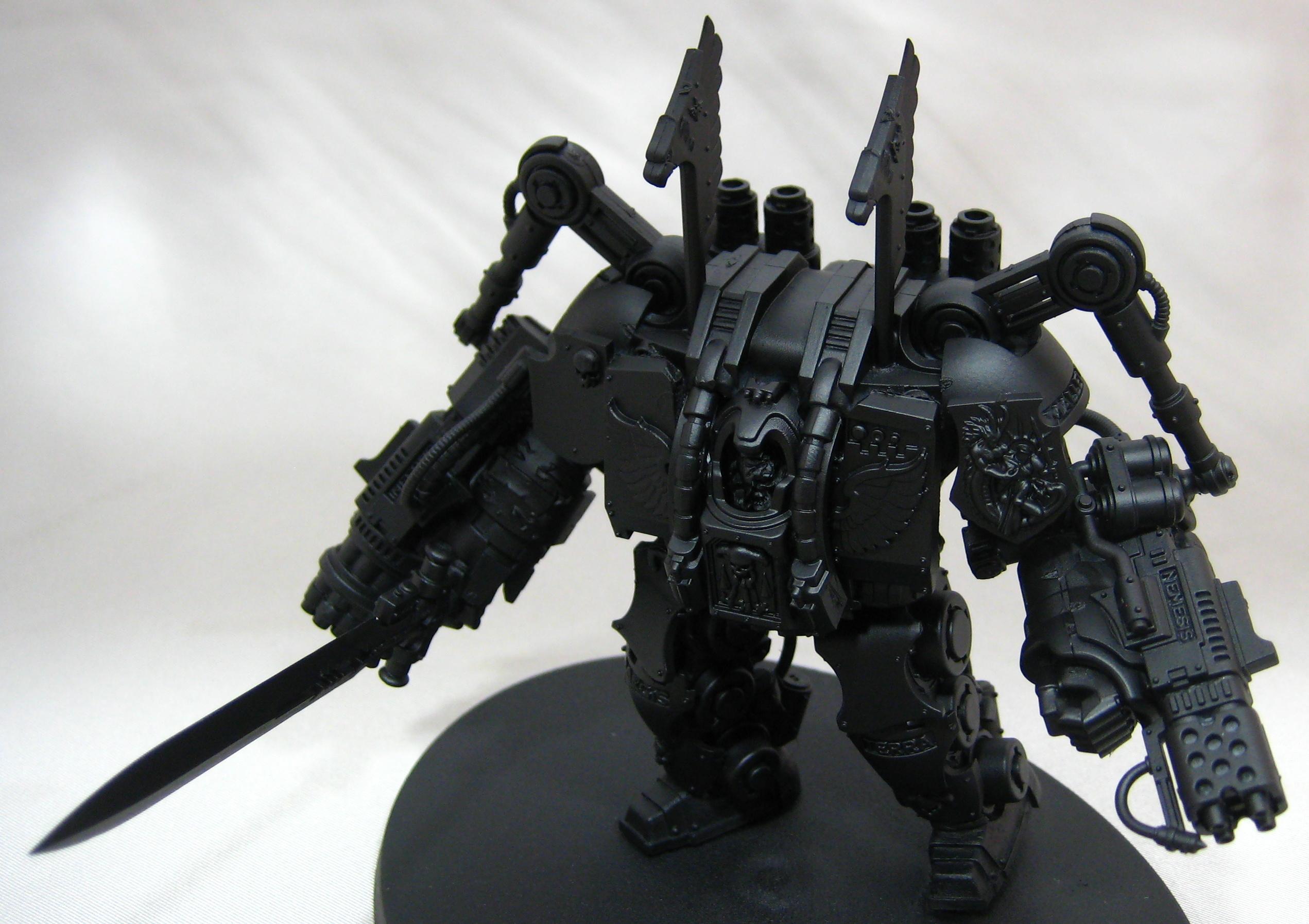 Conversion, Dreadknight, Dreadnought, Kit Bash, Librarian, Space Marines, Warhammer 40,000