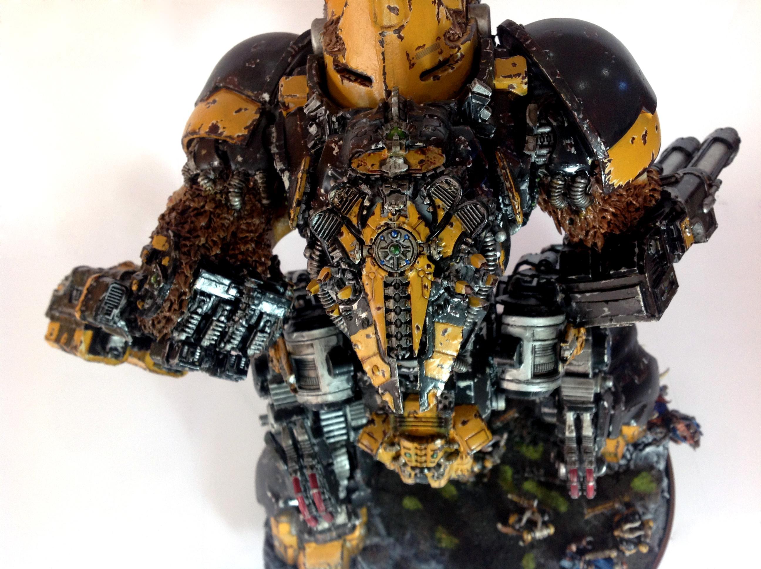 Beast, Beastmen, Cygor, Mercenary, Metal, Pattern, Space, Space Marines, Titan, Warhammer 40,000, Warhound, Wolves