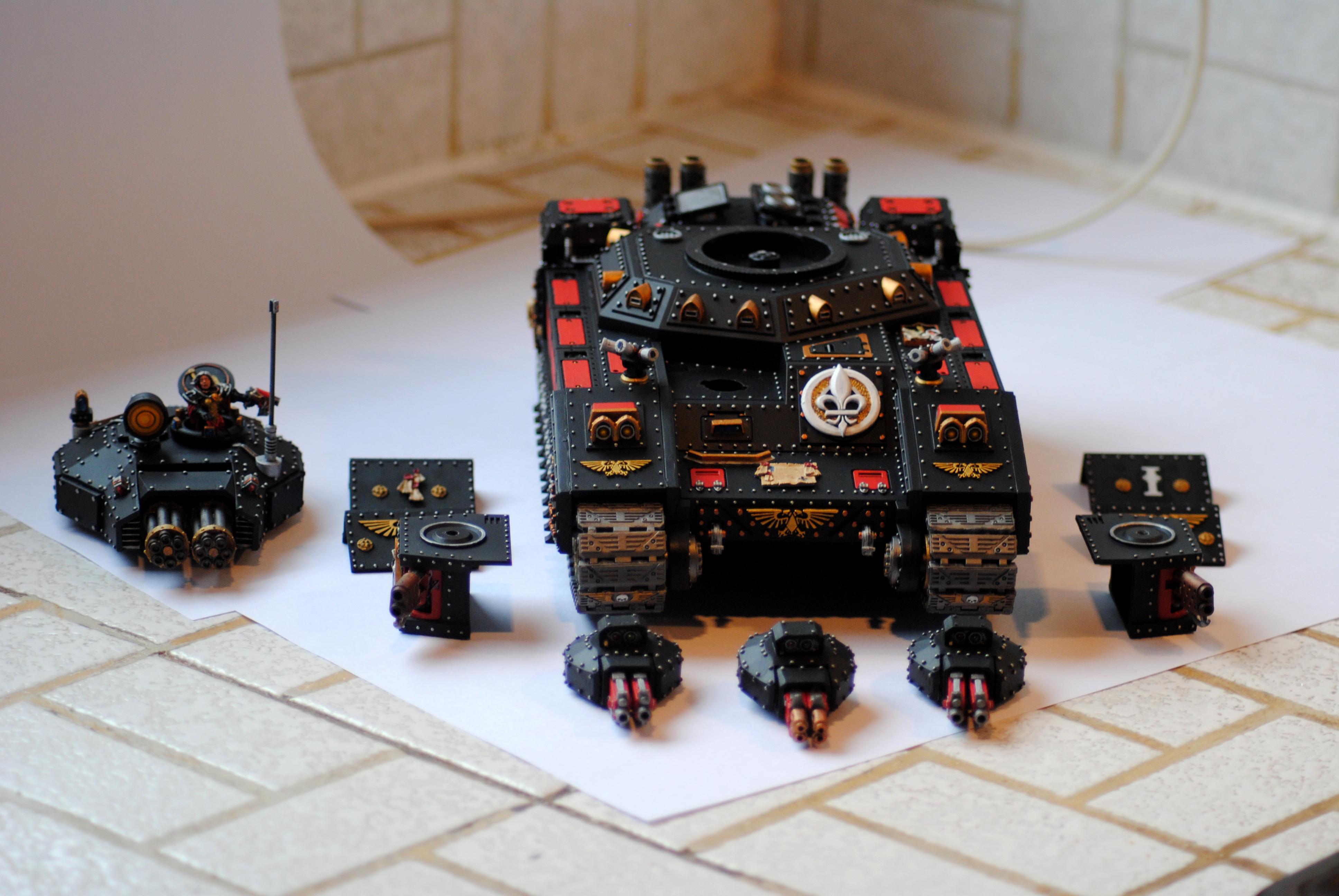 Adepta Sororitas, Baneblade, Heavy Bolter, Multimelta, Sisters Of Battle, Superheavy Tank, Vulcan Megabolter