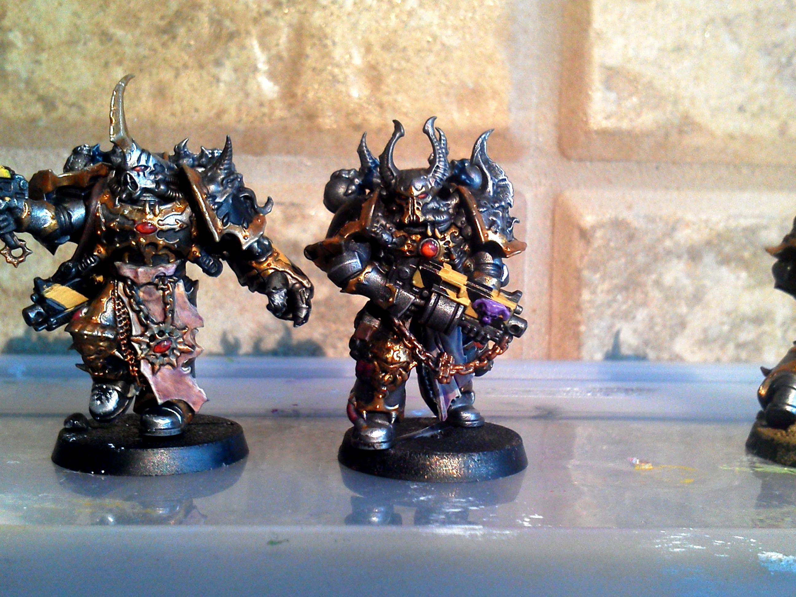Chaos Space Marines, Dark Vengeance, Iron Warriors