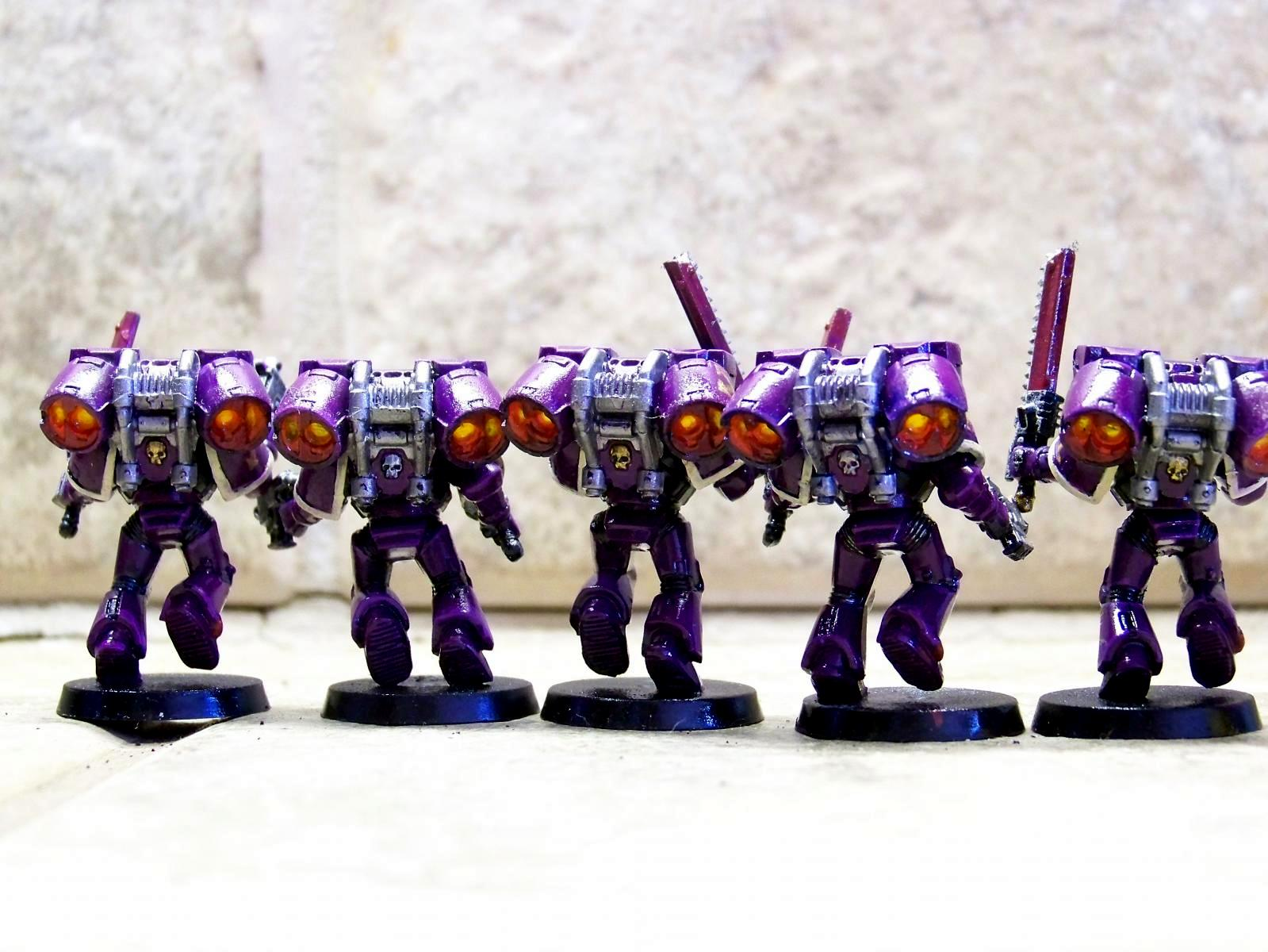 Assault Marines, Assault Squad, Jump Pack, Soul Drinkers, Space Marines