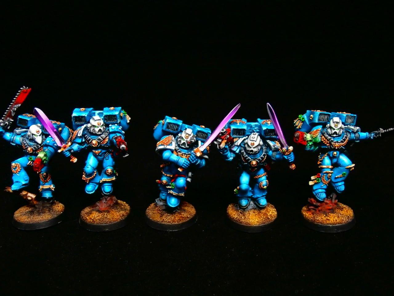 Squad, Ultramarines, Vanguard, Veteran