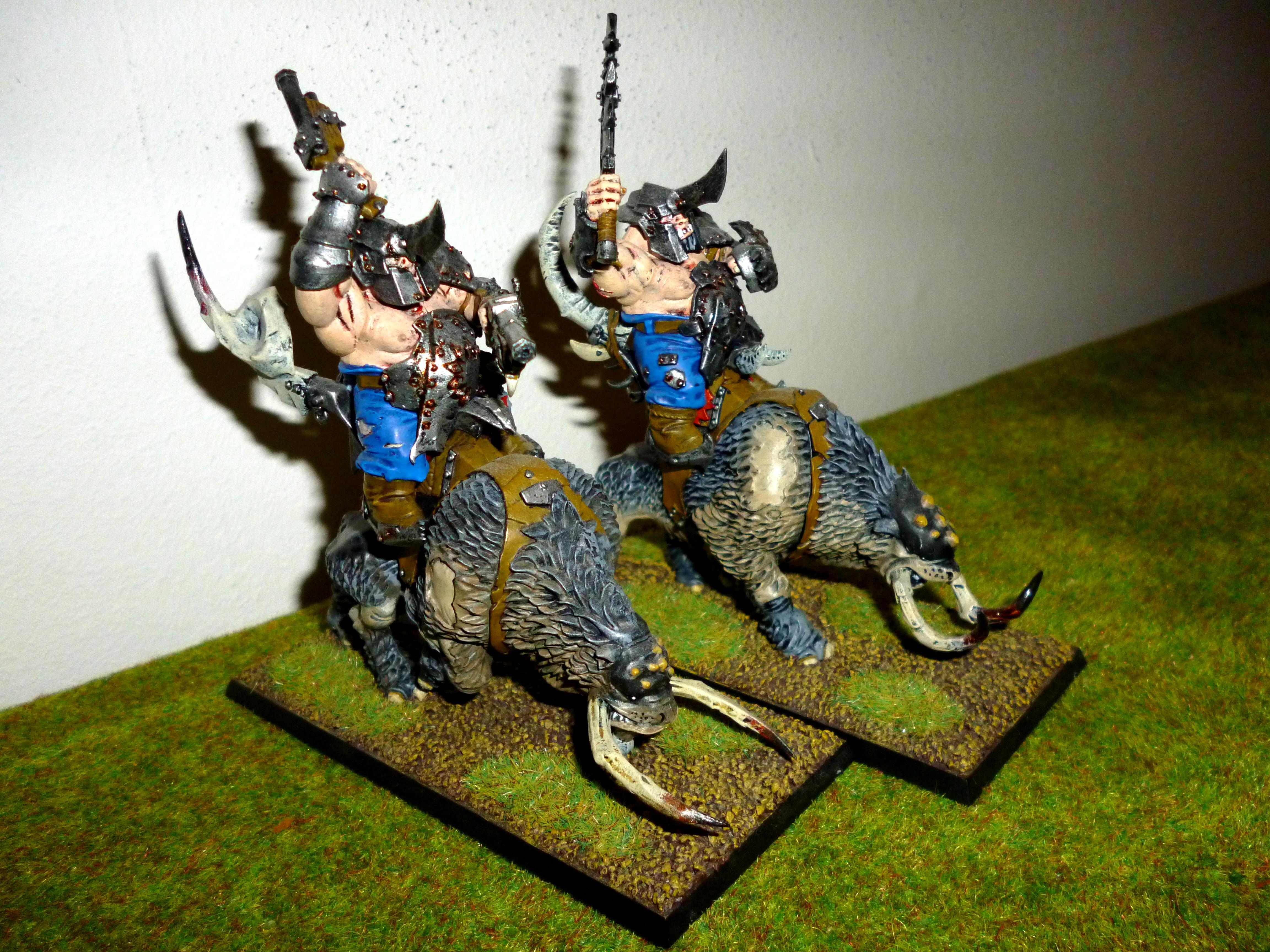 Mournfang Cavalry, Ogres