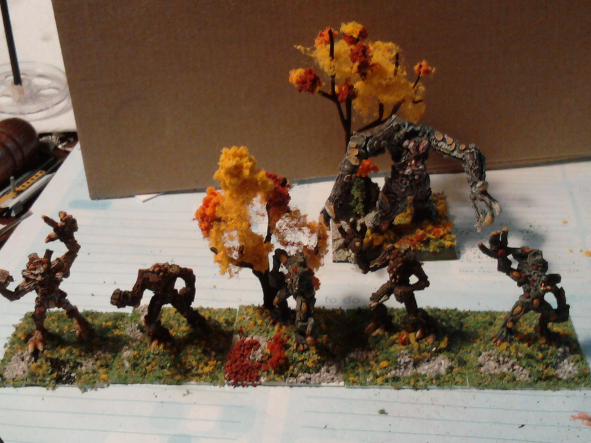 Treekin, Treeman, Warhammer Fantasy, Wfb, Wood Elves
