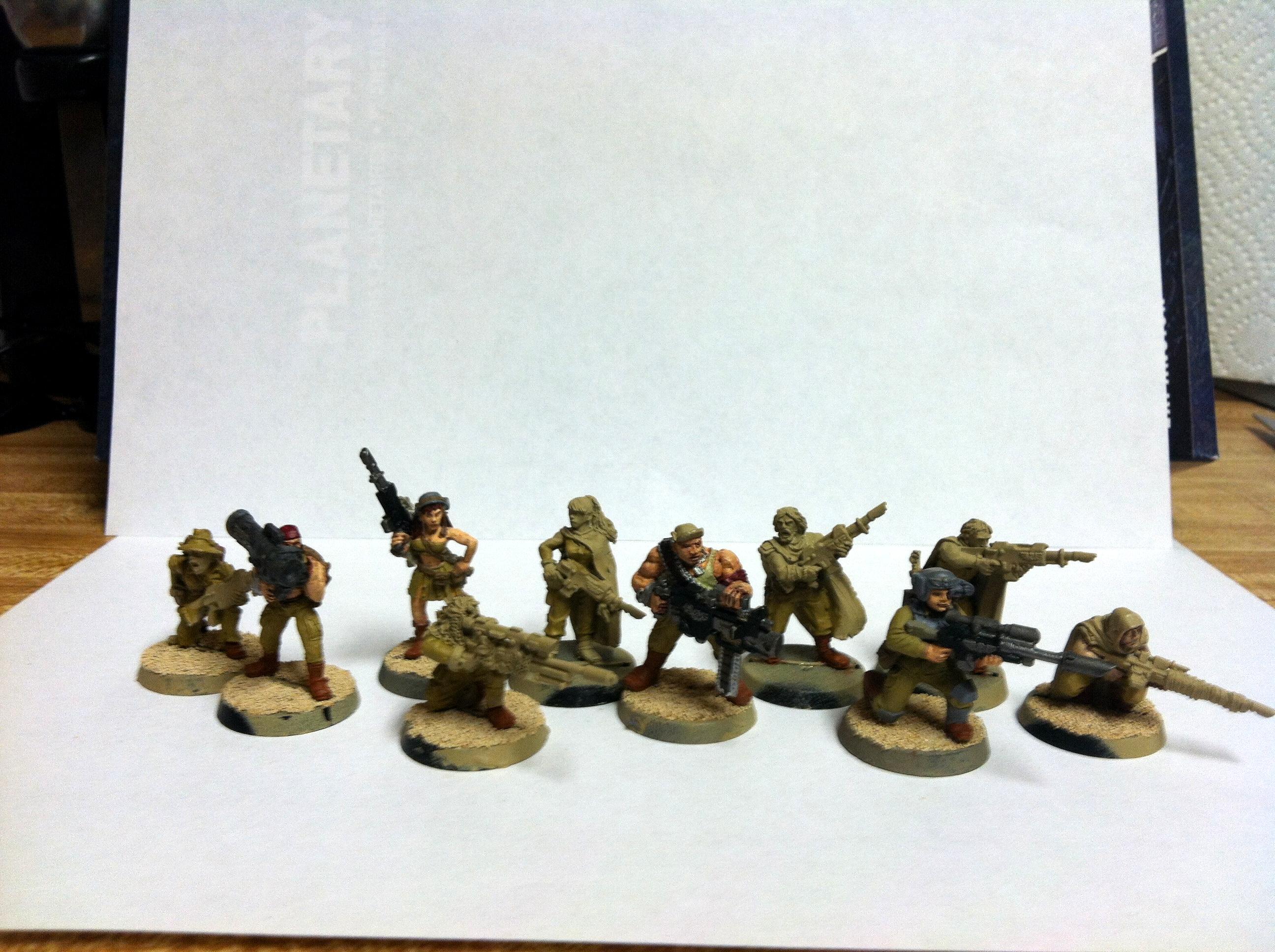 Harker's vet squad