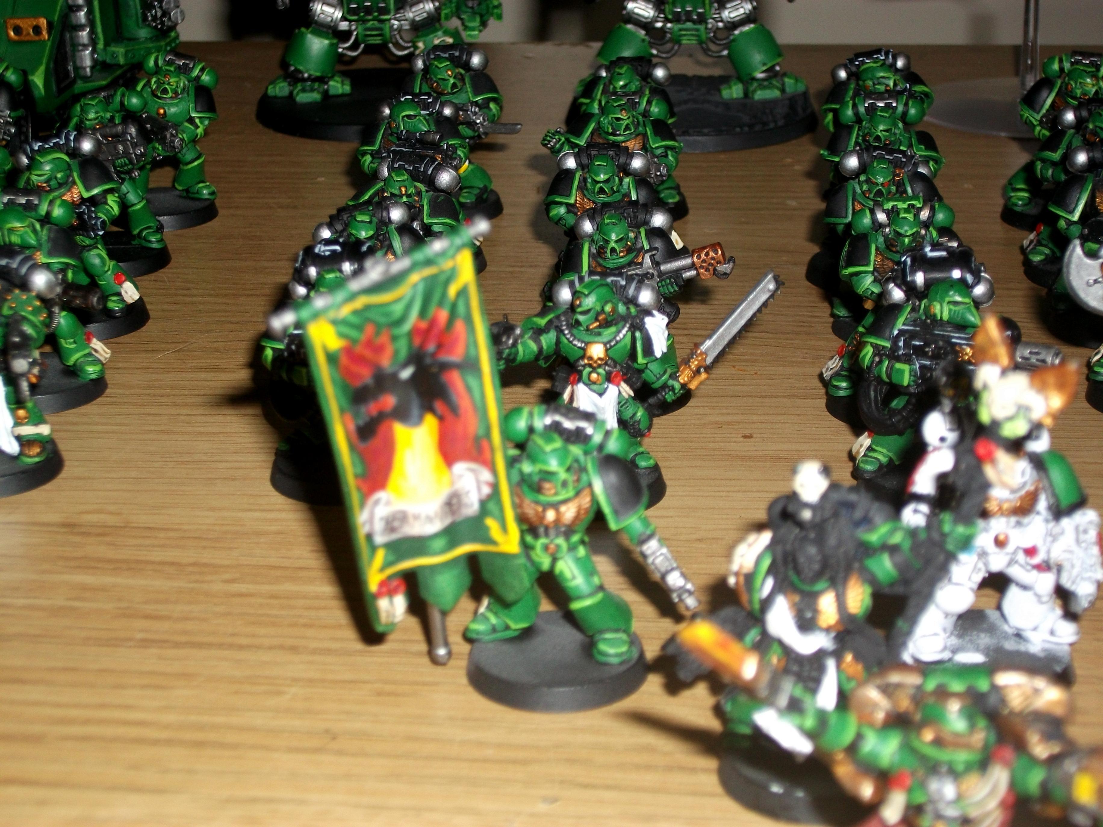 Salamanders, Troops