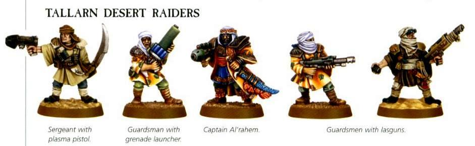 Arab, Imperial Guard, Tallarn Desert Raiders