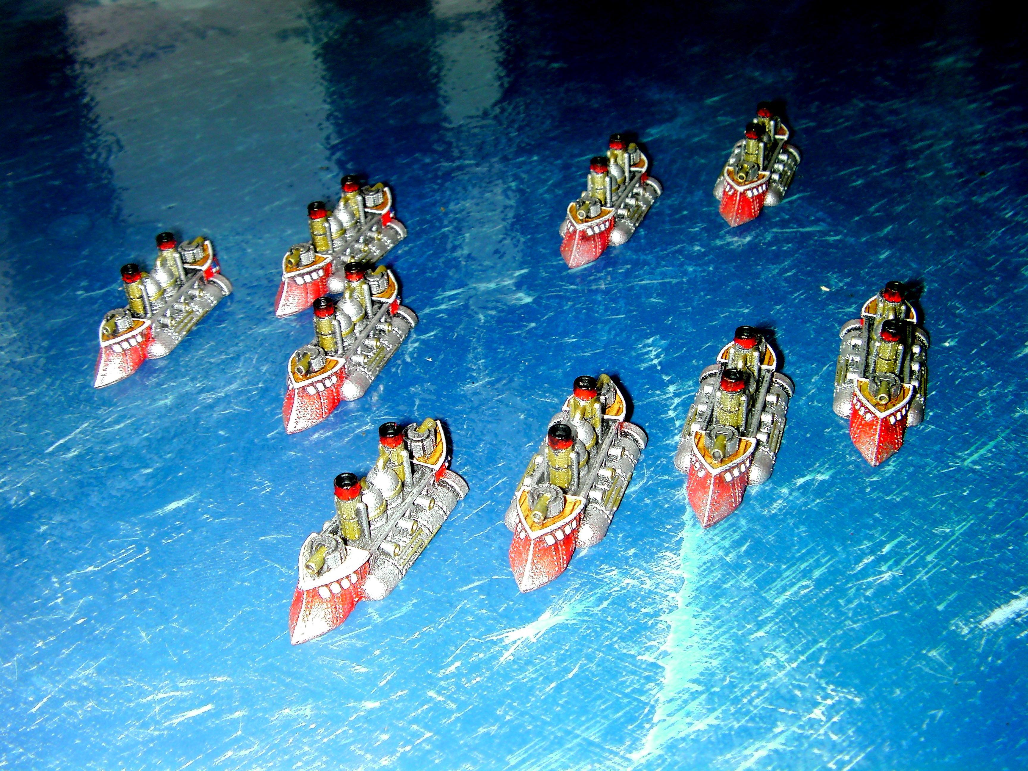 Attacker, Attacker Class, English Frigate, Frigate, Kingdom Of Britannia Frigate, Kob