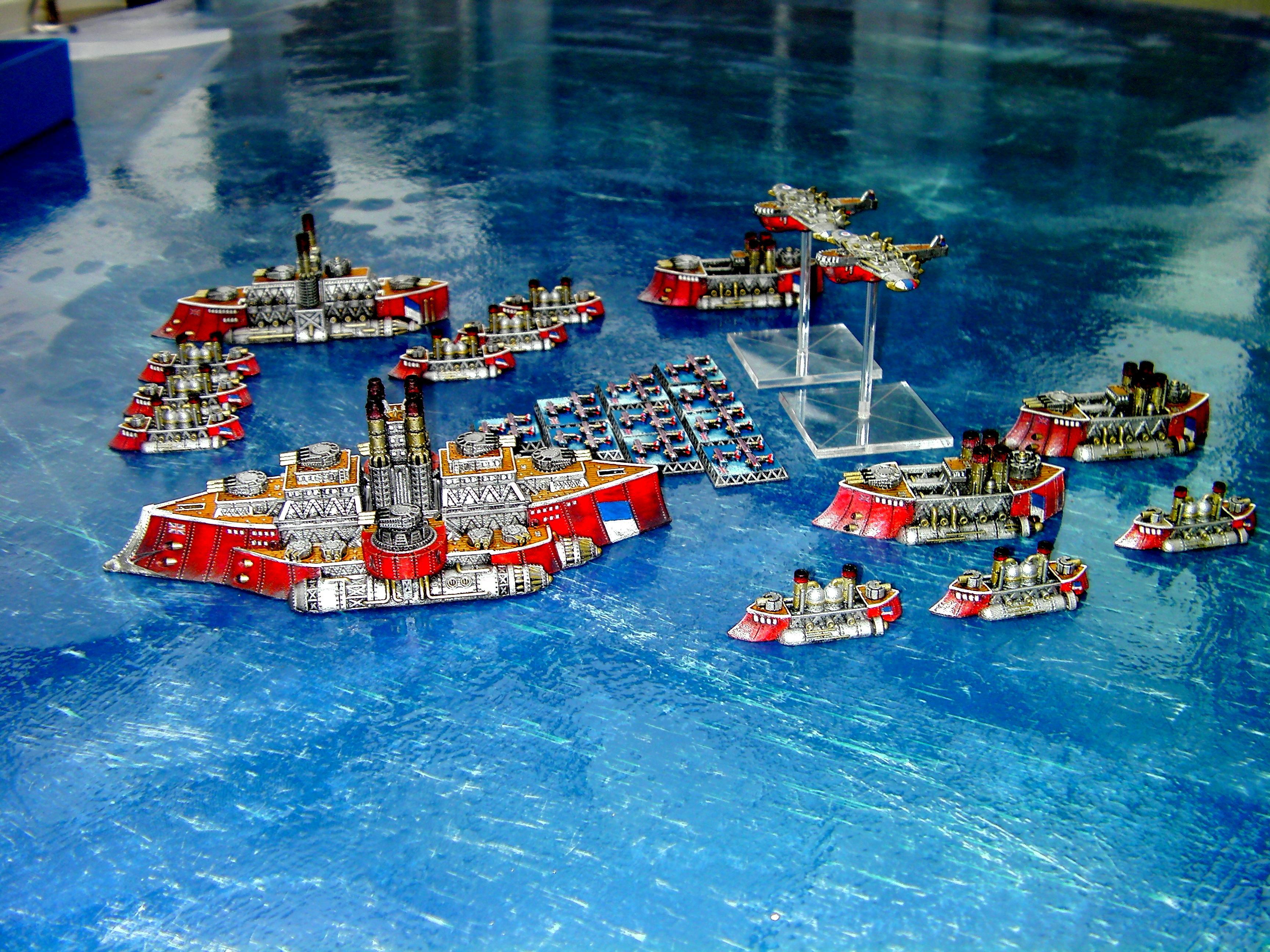British Fleet, English Fleet, Fleet, Kingdom Of Britannia Fleet, Kob