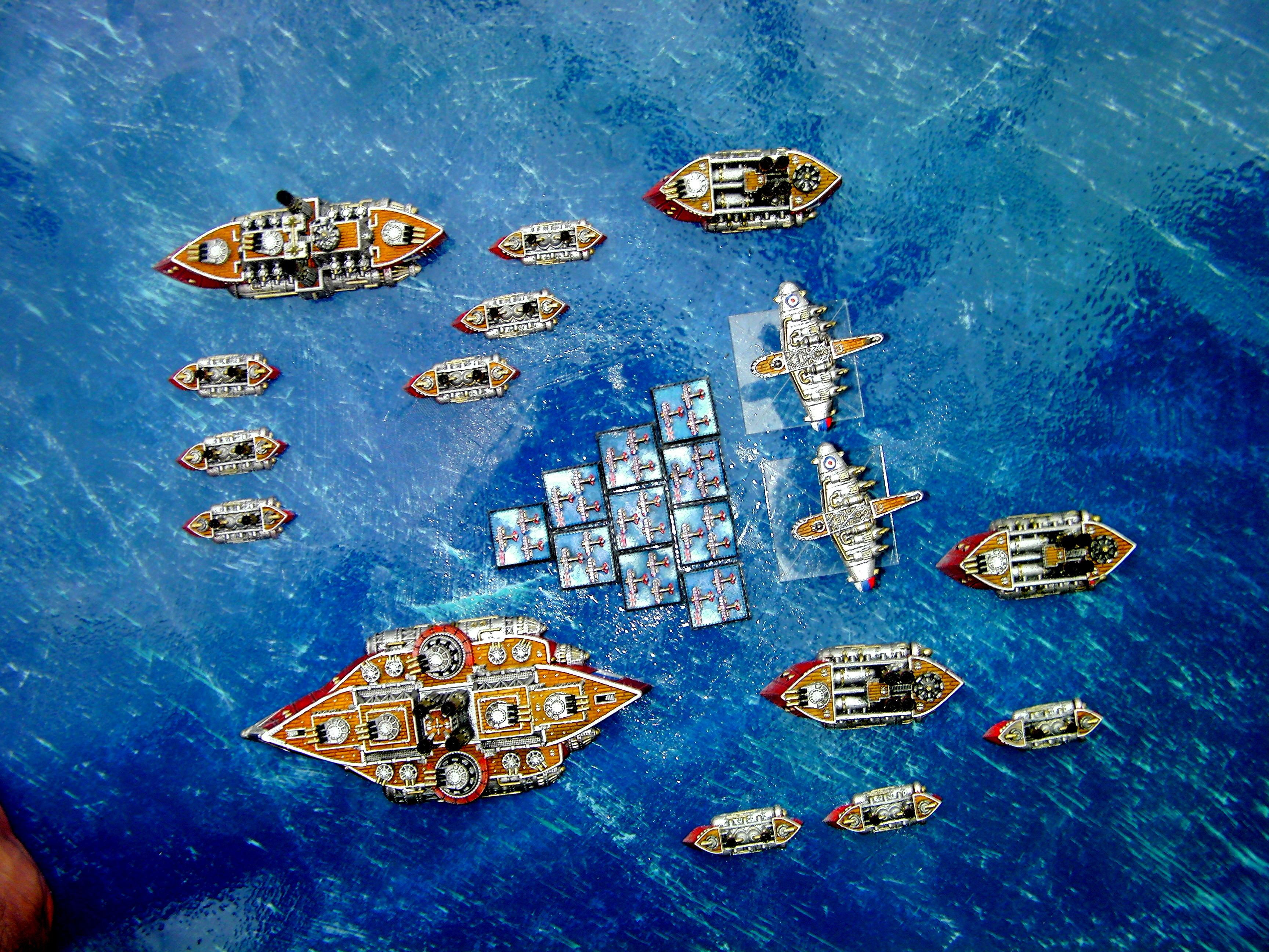 British Fleet, English Fleet, Fleet, Kingdom Of Britannia Fleet, Kob