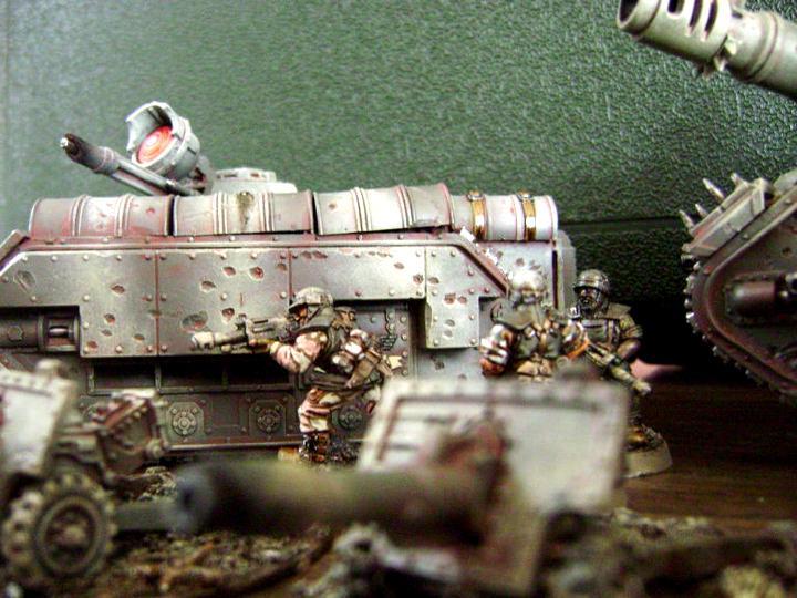 Cadians, Chimera, Guardsmen, Heavy Weapon, Imperial Guard, Lasgun, Multi-laser, Warhammer 40,000