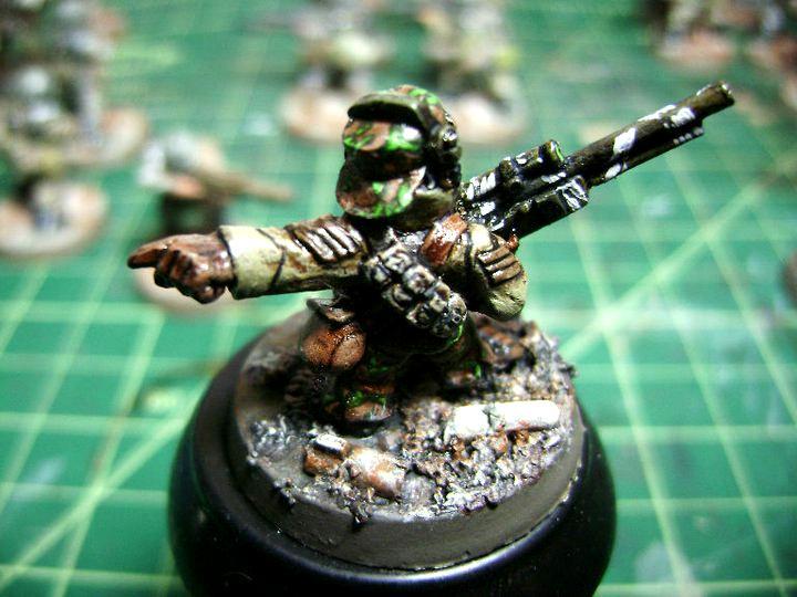 Cadians, Imperial Guard, Ratling, Ratling Sniper, Warhammer 40,000