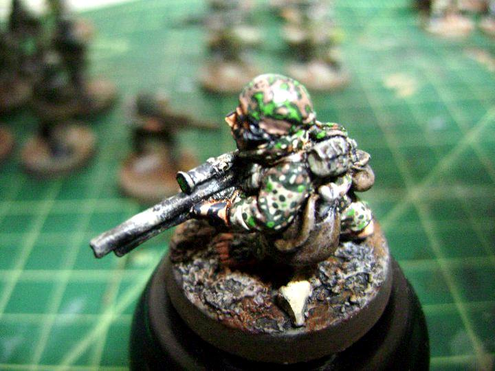 Cadians, Imperial Guard, Ratling, Snipers
