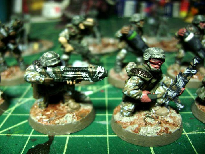 Cadians, Guardsmen, Imperial Guard, Lasgun, Plasma Gun, Warhammer 40,000