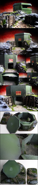 Bunker, Scratch Build, Terrain