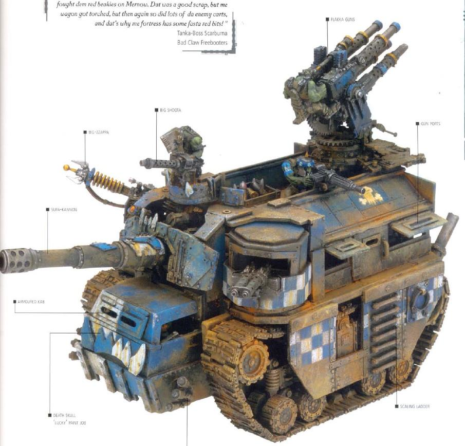 Battle Fortress, Imperial Armor Apocalypse, Imperial Armour Apocalypse, Orks, Ouze, Scratch Build, Warhammer 40,000, Work In Progress