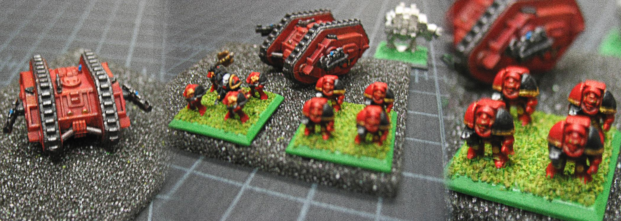 Blood Angels, Chaplain, Epic, Epic Armageddon, Epic Scale, Honor Guard, Land Raider, Terminator Armor
