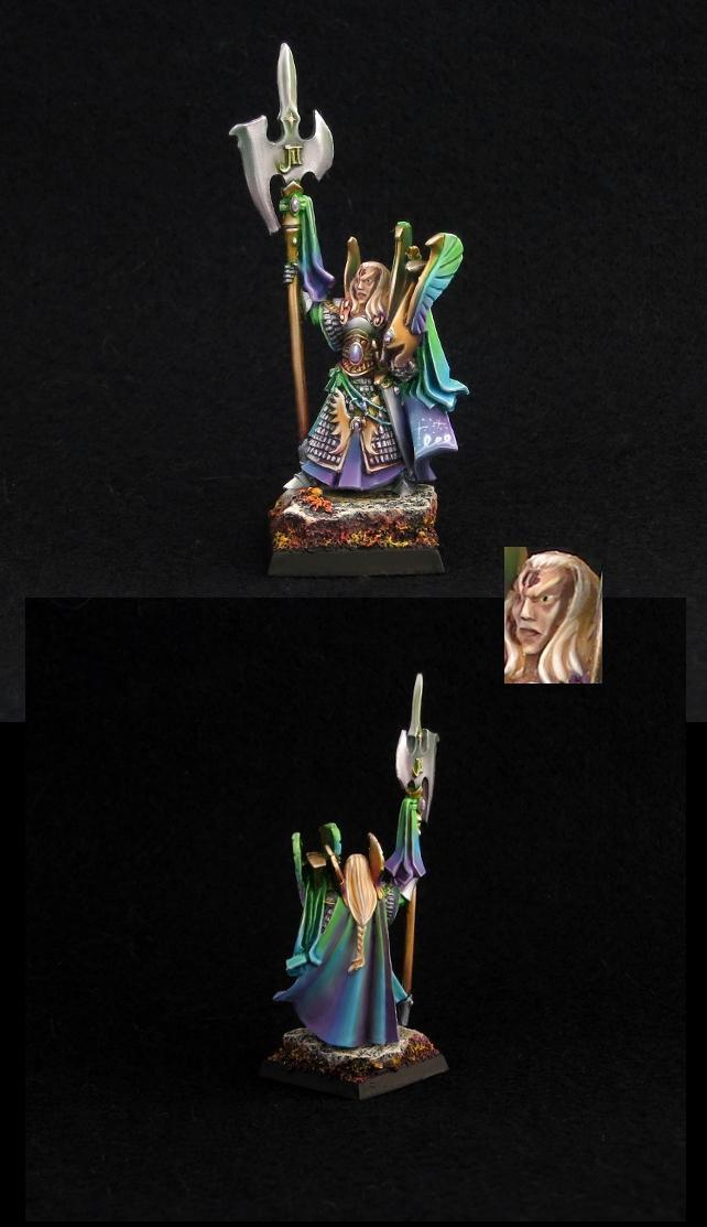Alti Elfi, Caradryan, Elves, High Elves, Violet