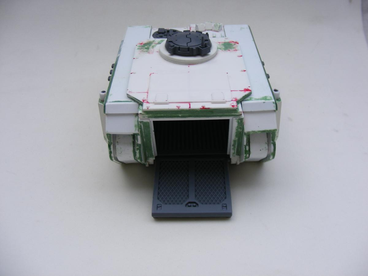 Imperial Guard, Scratch Build, Space Marines, Tank, Warhammer 40,000