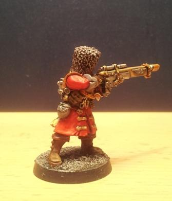 Cossack, Guardsmen, Imperial Guard, Lasgun, Russians, Vostroyan