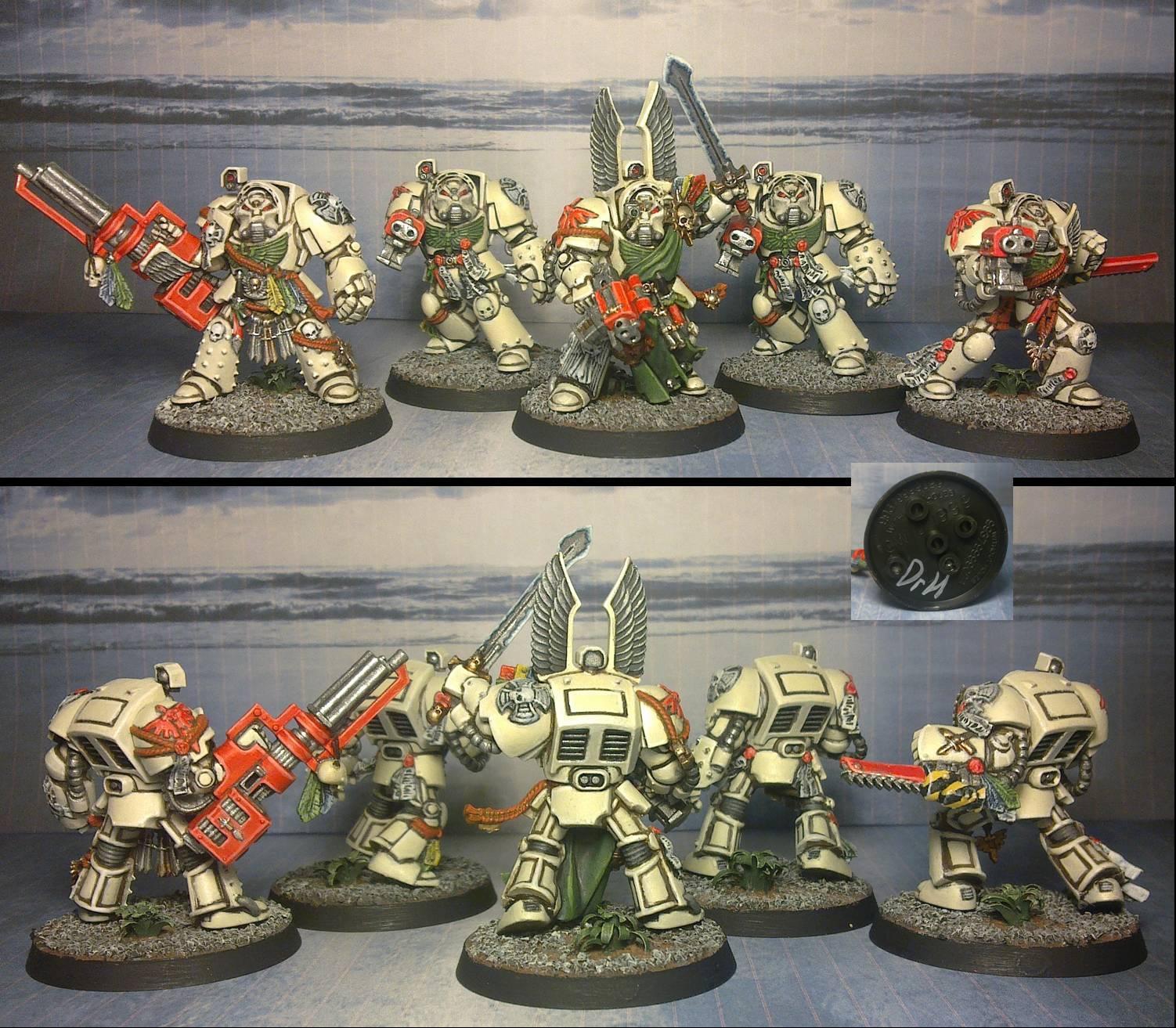 Dark Angels, Deathwing, Space Marines, Terminator Armor