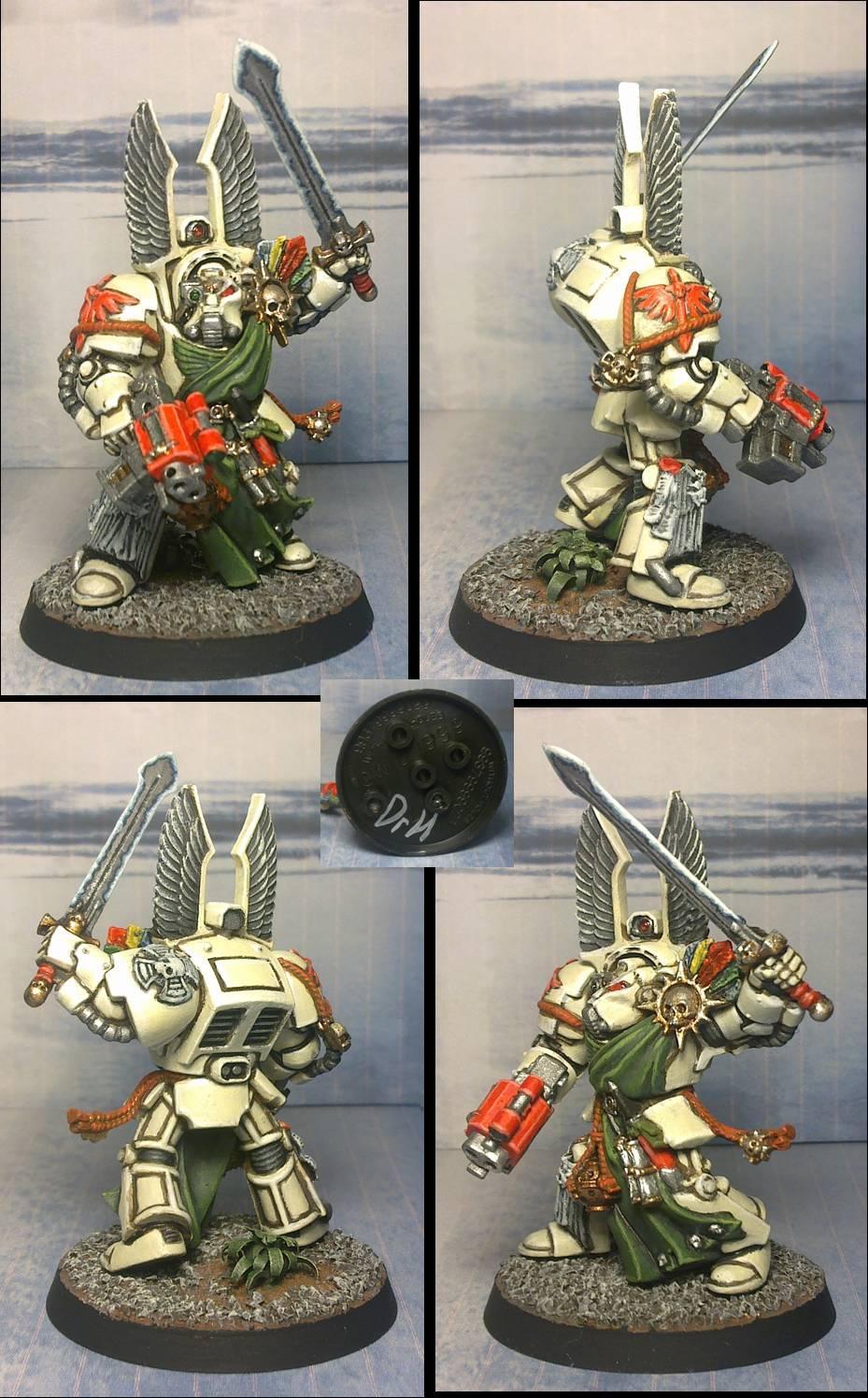 Dark Angels Deathwing Terminator Sergeant Barachiel